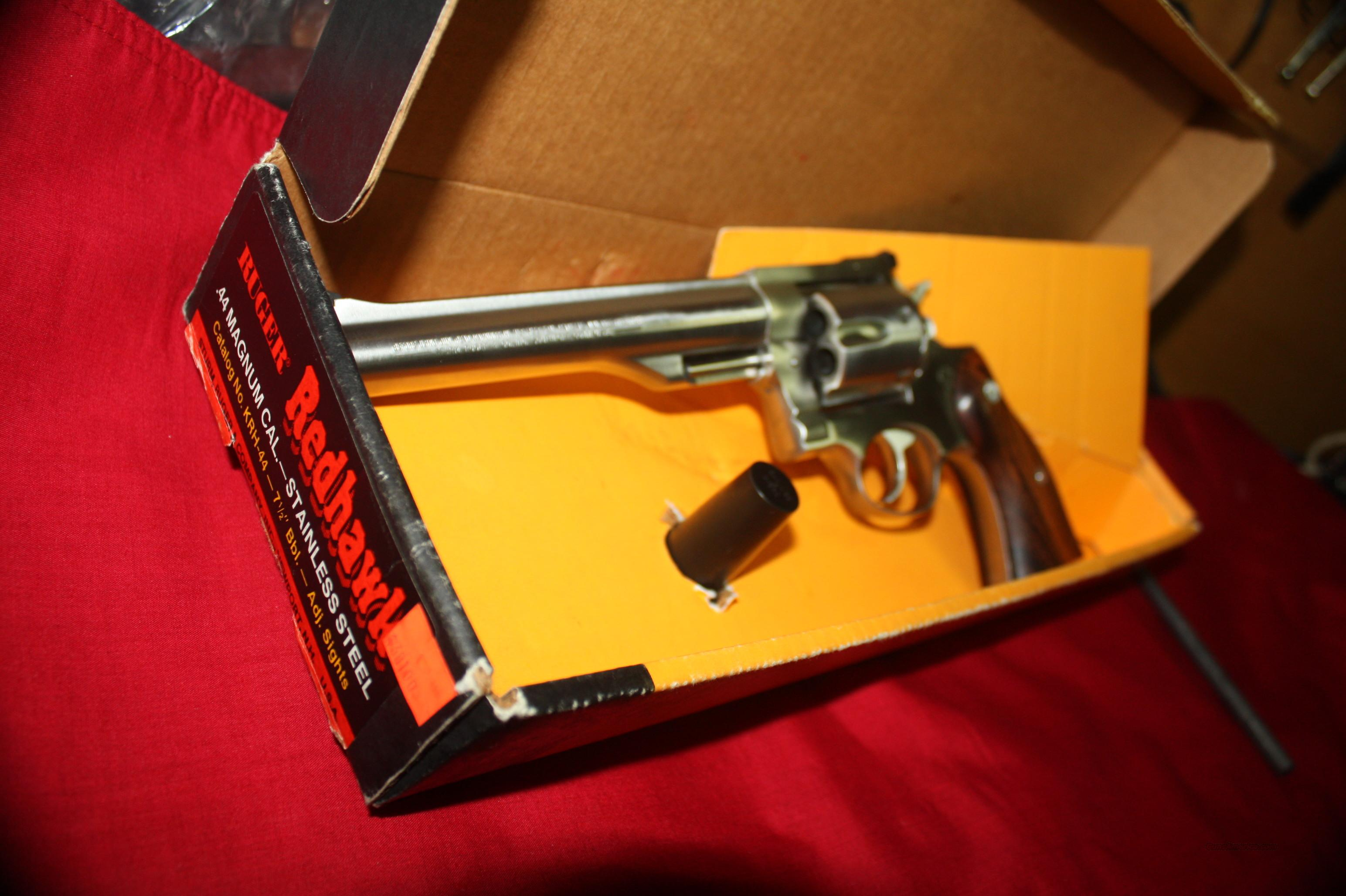 Ruger Redhawk 44 Mag  Guns > Pistols > Ruger Double Action Revolver > Redhawk Type
