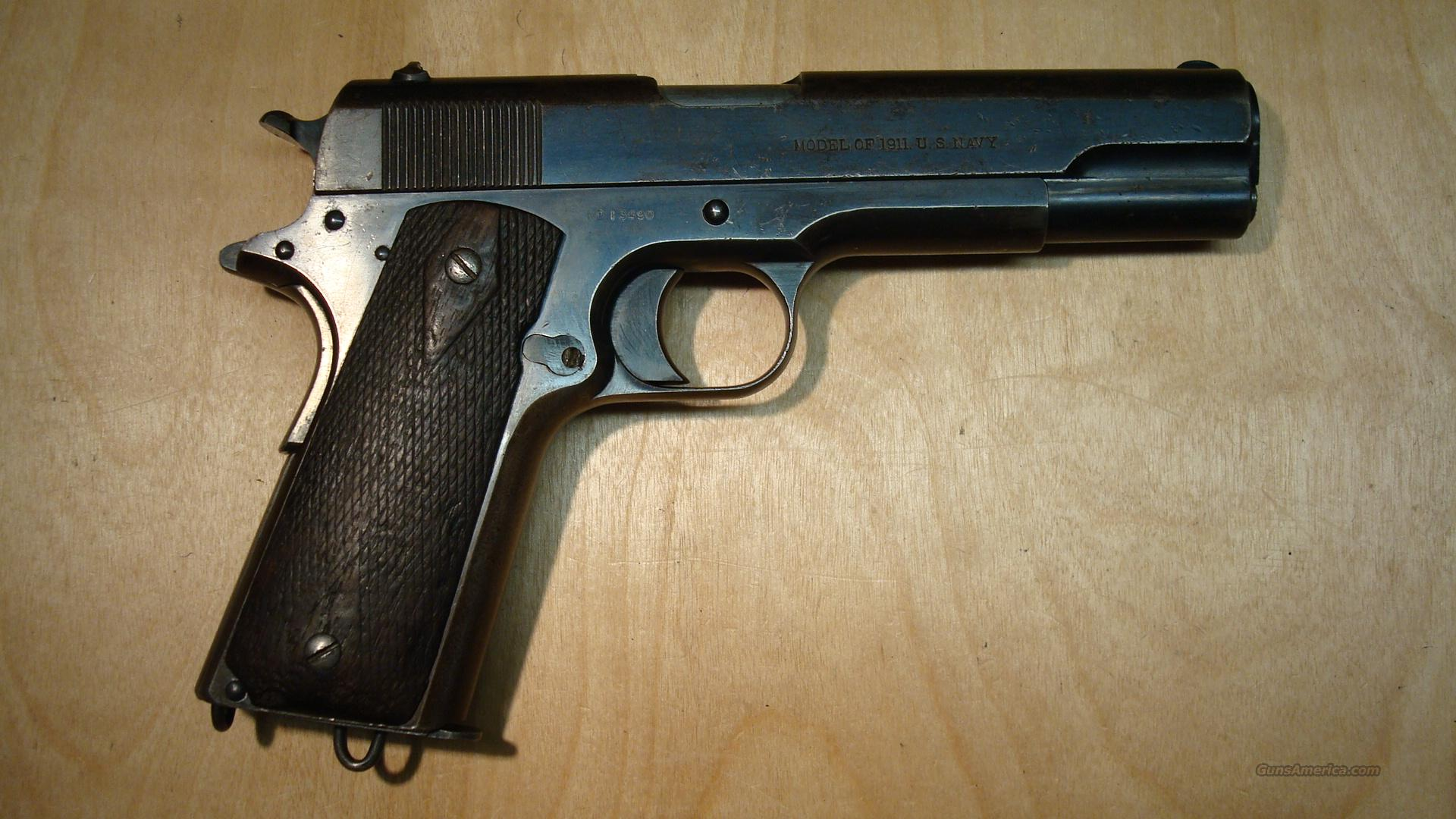 COLT 1911 NAVY .45 RARE 1912 for sale