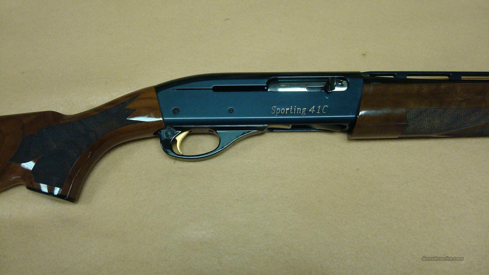 REMINGTON 1100 SPORTING .410 AS NEW  Guns > Shotguns > Remington Shotguns  > Autoloaders > Trap/Skeet