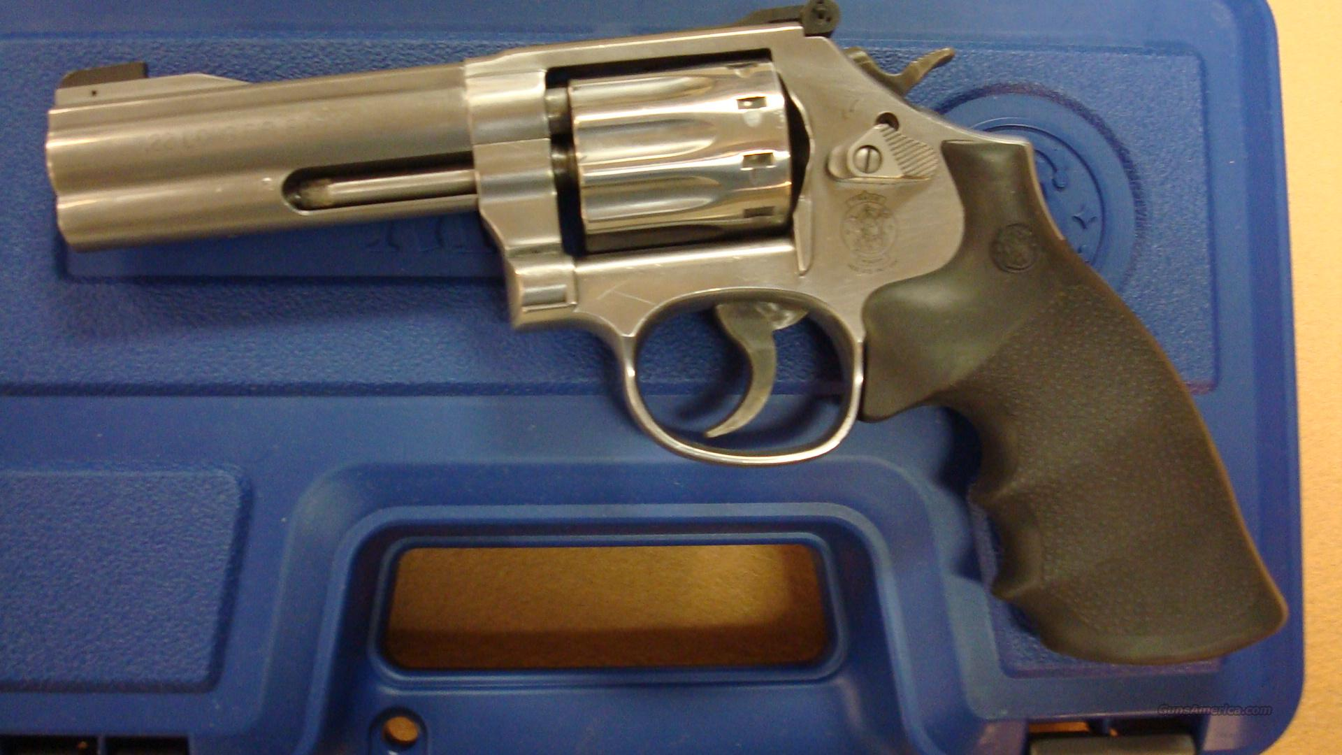 "S&W 617-6 .22LR 4"" AS 10-SHOT STAINLESS  Guns > Pistols > Smith & Wesson Revolvers > Full Frame Revolver"