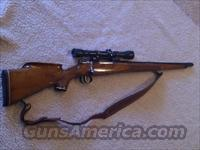 Swedish Mauser 6.5X55 Rifle and Scope  Guns > Rifles > Mauser Rifles > German