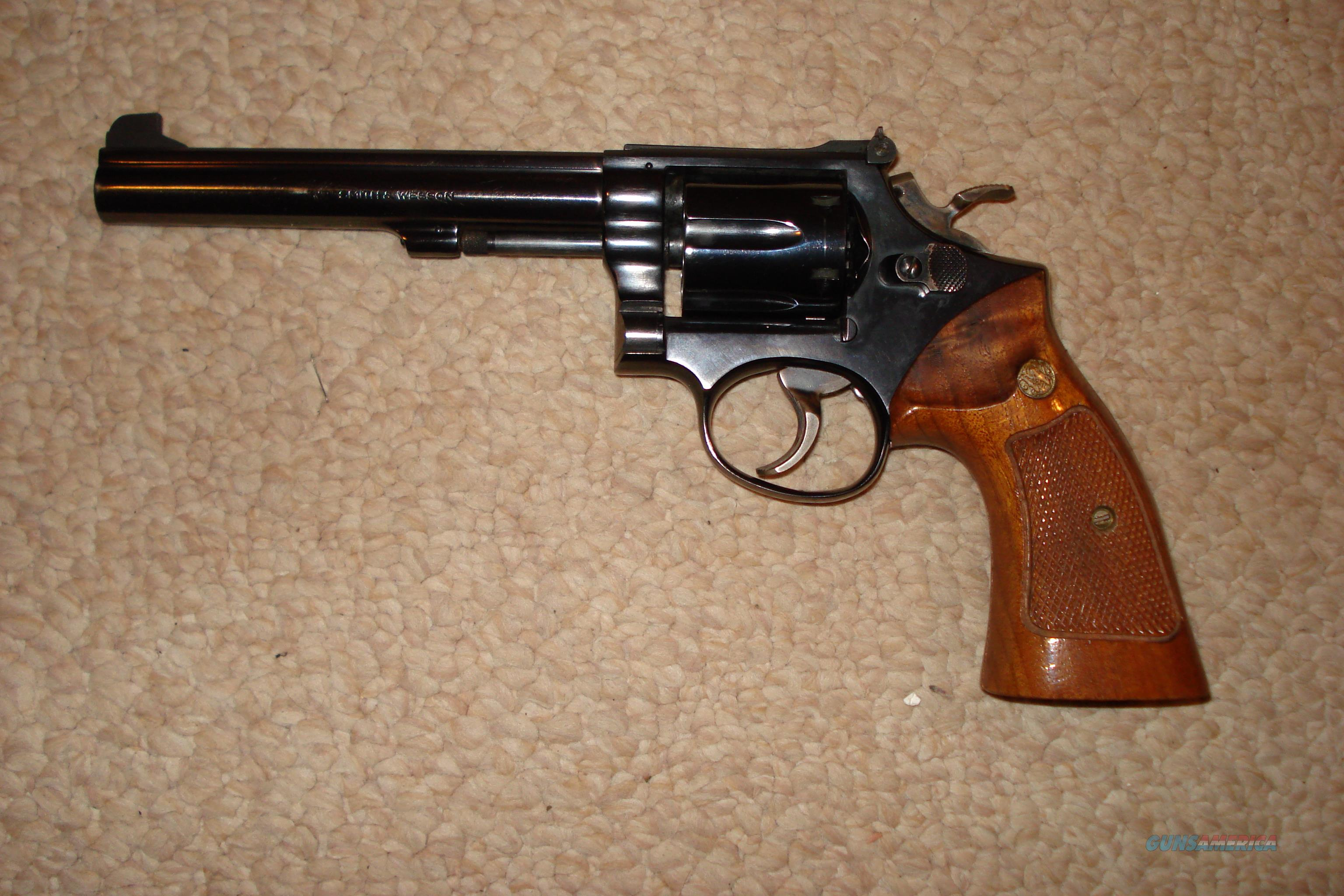 Smith&Wesson Model 14 38special  Guns > Pistols > Smith & Wesson Revolvers > Full Frame Revolver