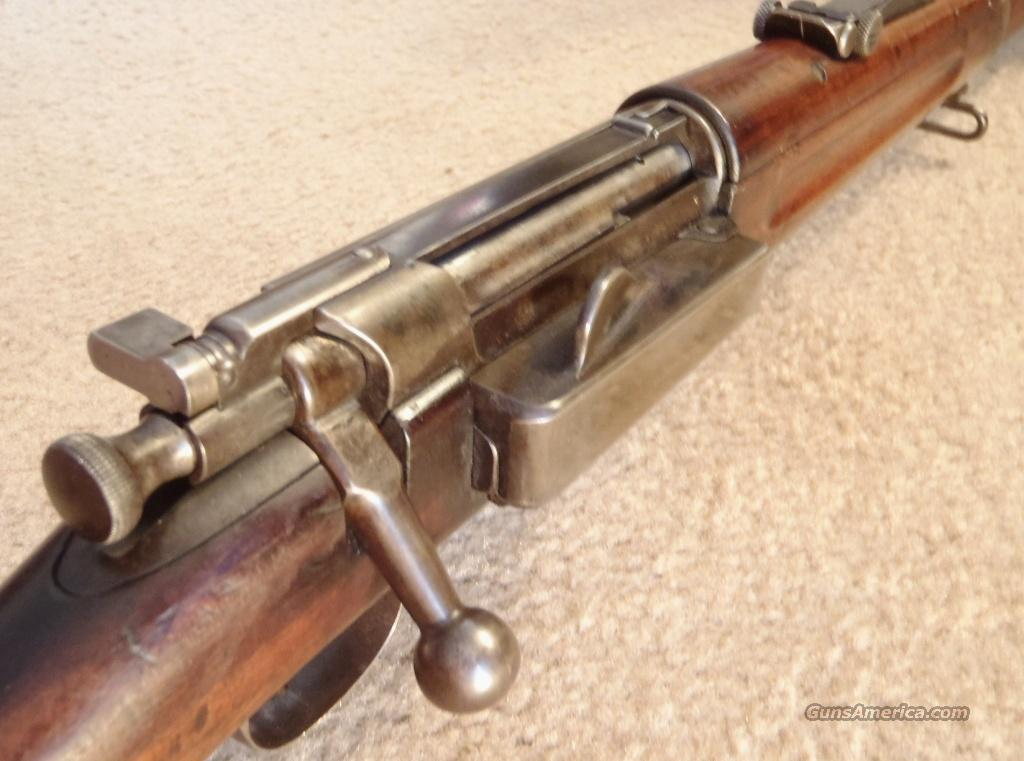 Model 1898 Krag-Jørgensen Rifle, Caliber .30-40  Guns > Rifles > Military Misc. Rifles US > Krag-Jorgenson