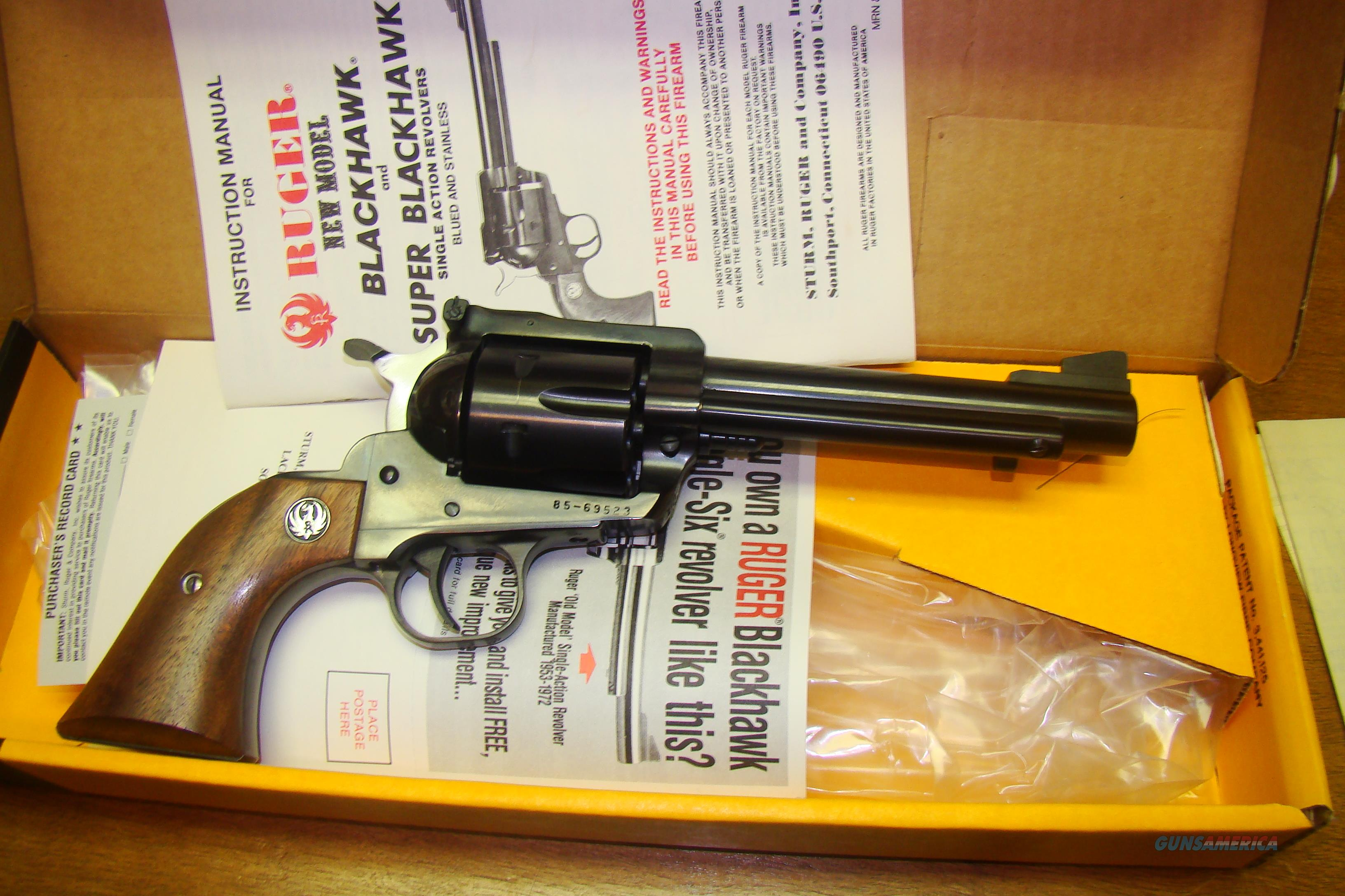Ruger Super Blackhawk in .44mag  Guns > Pistols > Ruger Single Action Revolvers > Blackhawk Type