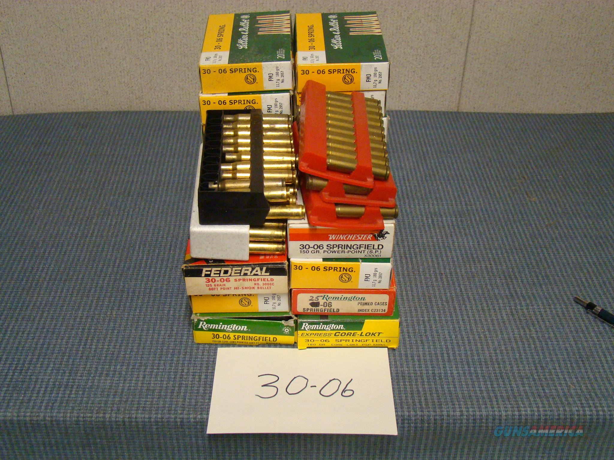 30/06 Once fired brass  Non-Guns > Reloading > Components > Brass