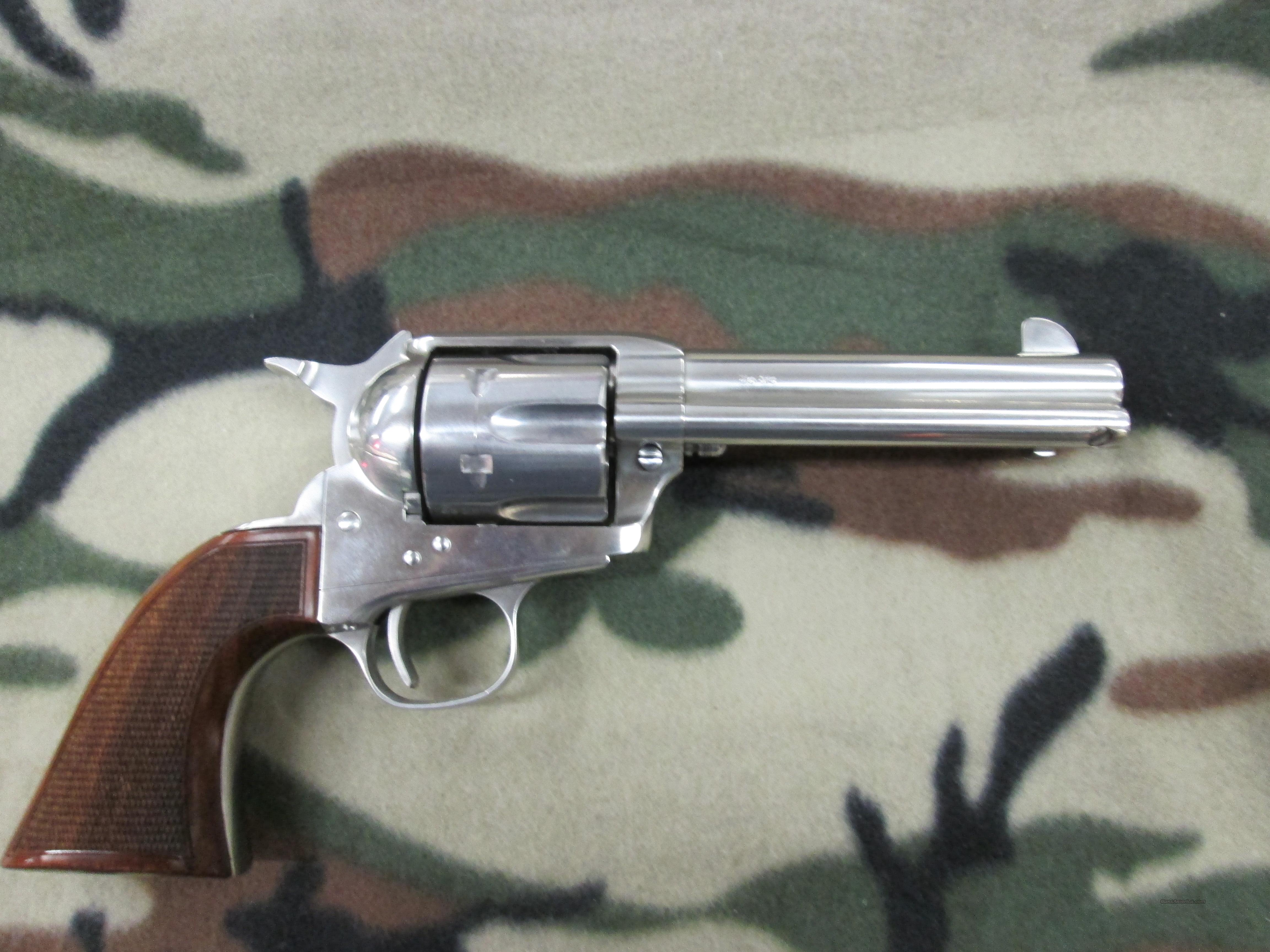 Taylor Running Iron Stainless Deluxe 4 3/4 inch Barrel 45 Colt REDUCED  Guns > Pistols > Taylors & Co. Pistols > Ctg.