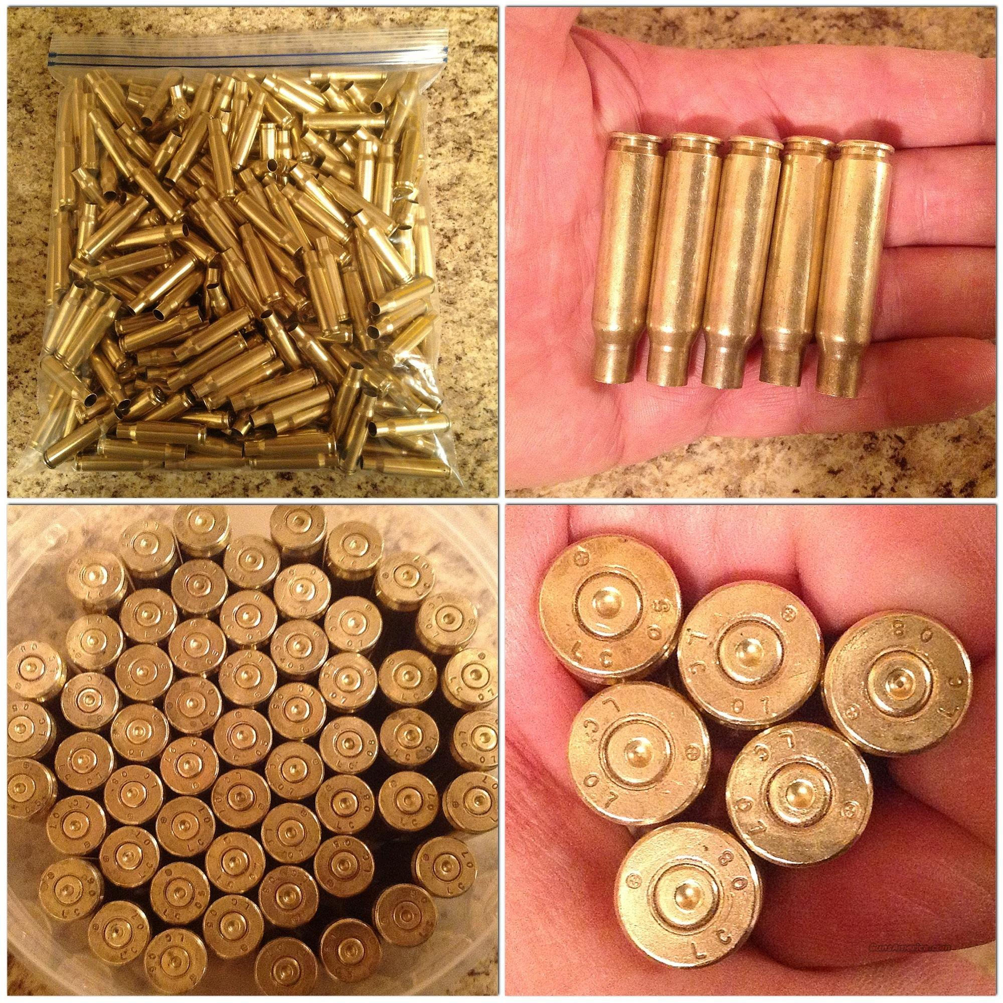 500 Lake City 7.62X51 / 308 Brass, Clean, Once Fired  Non-Guns > Reloading > Components > Brass