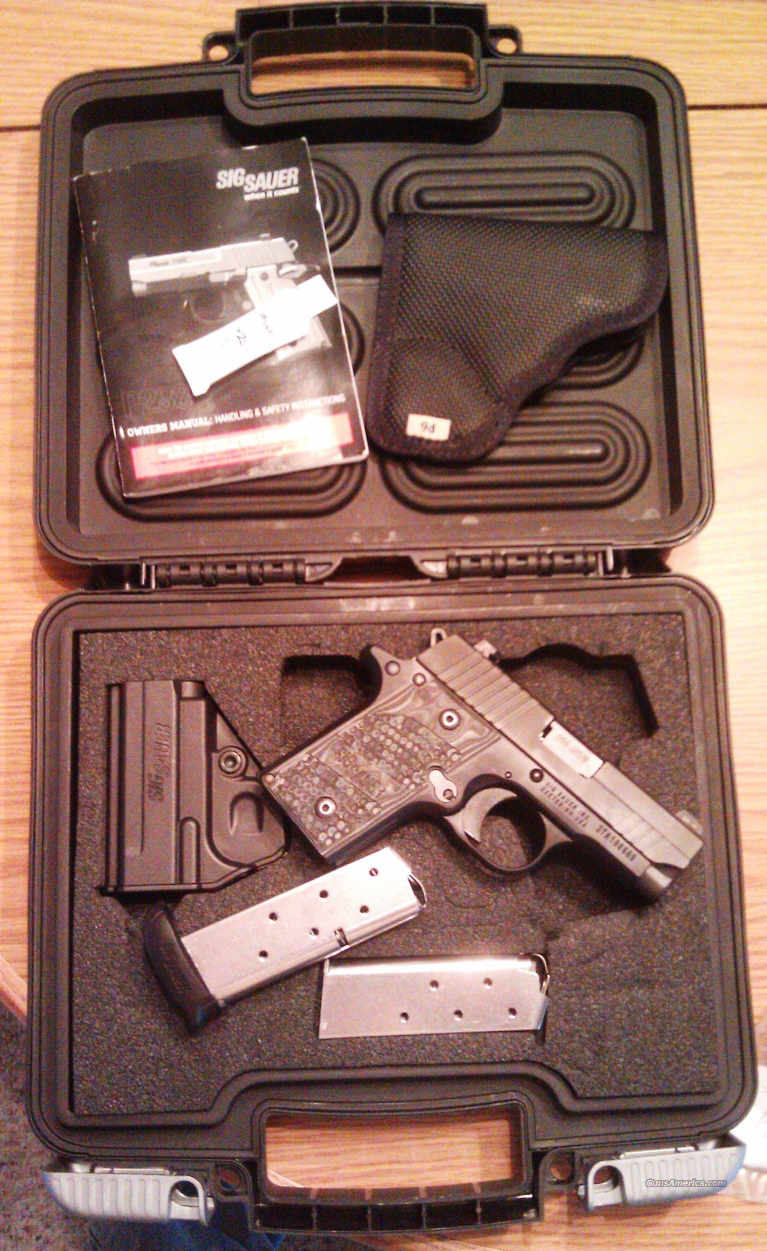 "SIG SAUER P238 ""EXTREME"" Combo w/ acessories, hard case, UNFIRED!  Guns > Pistols > Sig - Sauer/Sigarms Pistols > P238"