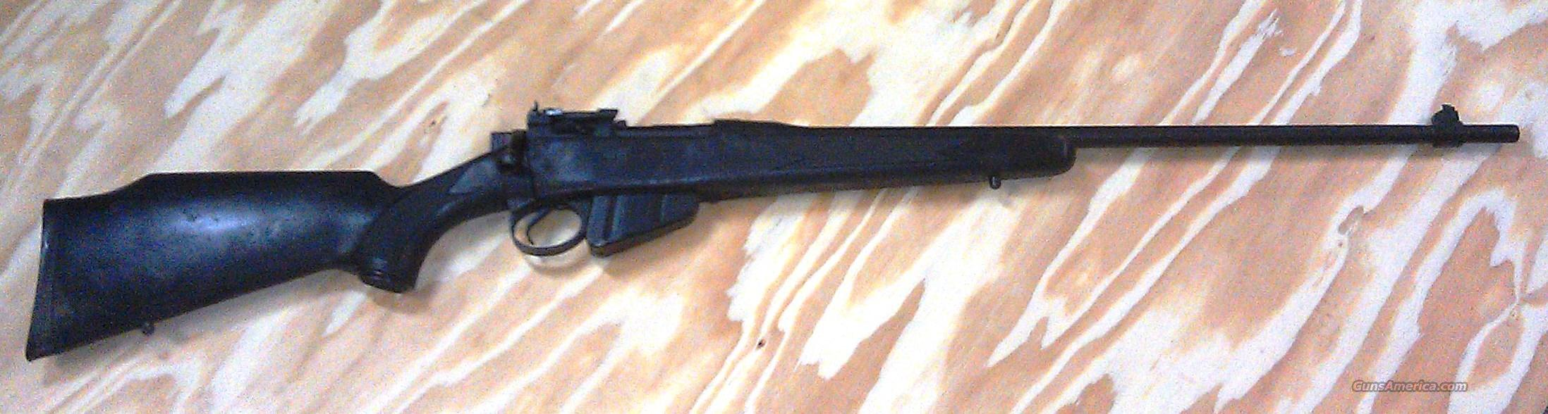 ENFIELD No. 4 Sporter .303 w/synthetic matte black stock  parkerized. NICE!!!  Guns > Rifles > Enfield Rifle