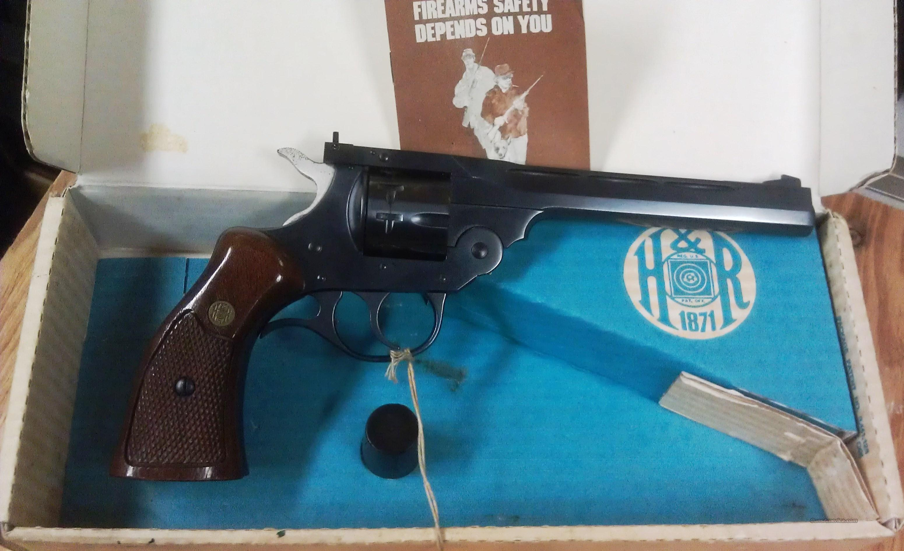 "Harrington & Richardson Model 999 ""TOP-BREAK"" 9 shot Target Revolver  Guns > Pistols > Harrington & Richardson Pistols"