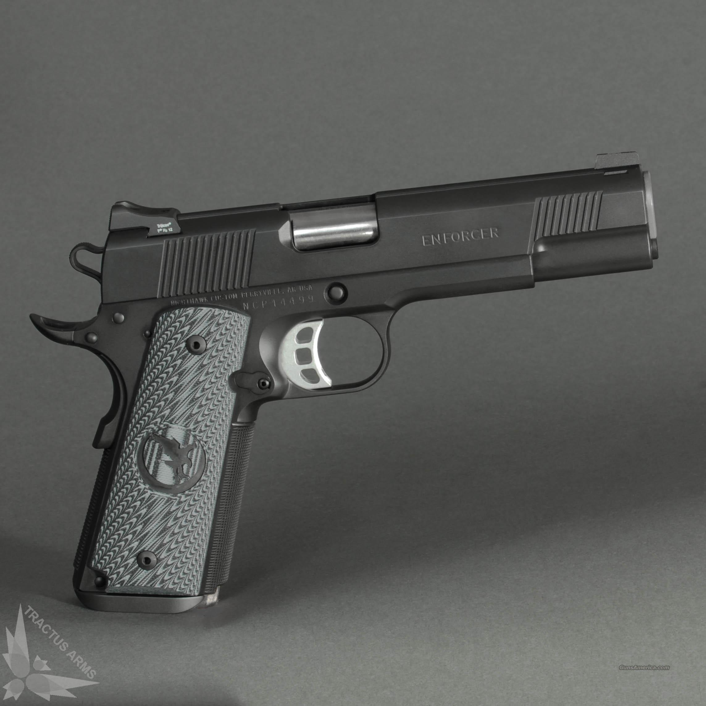 Nighthawk Custom Enforcer .45 ACP 1911  Guns > Pistols > Nighthawk Pistols