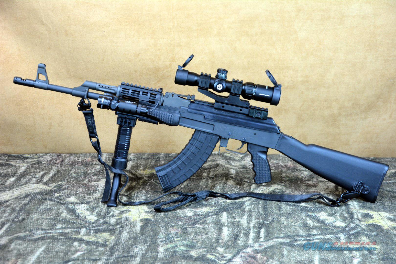 Century Auto Sales >> Custom AK-47 Many Extras! 7.62x39 AK47 for sale