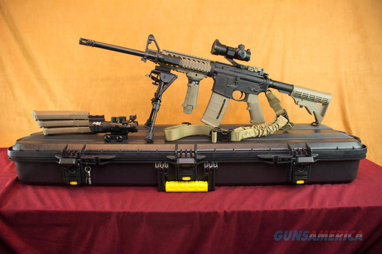 Smith & Wesson M&P 15 Sport in FDE SuperKit! Everything Included  Guns > Rifles > Smith & Wesson Rifles > M&P