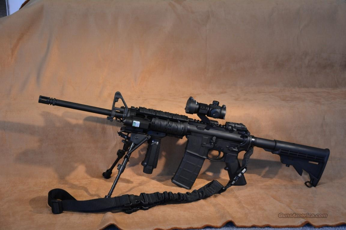 S&W M&P15 AR-15 .223/5.56 Loaded!! Has Everything!!  Guns > Rifles > Smith & Wesson Rifles > M&P