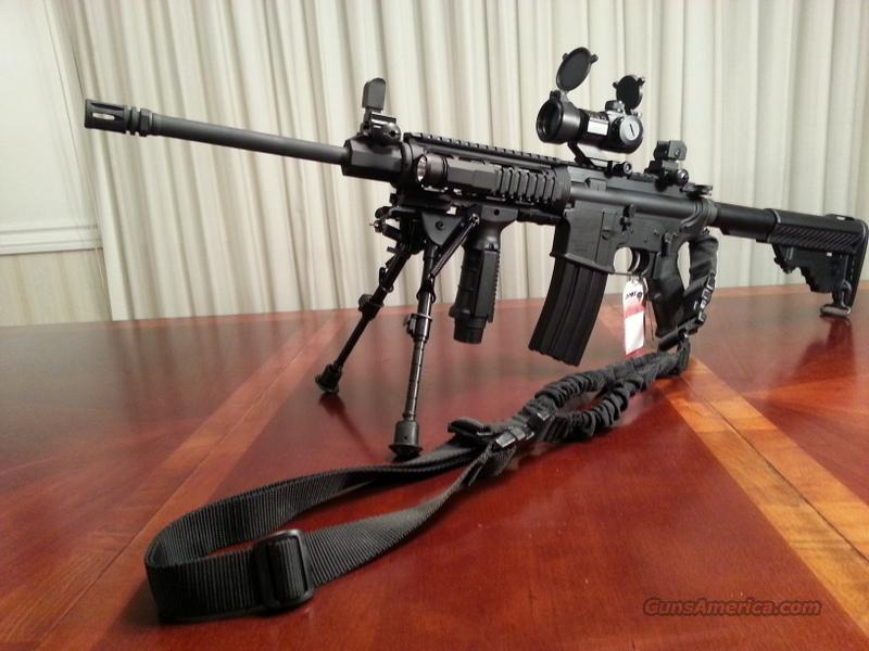 DPMS AR-15! Custom, Many Accessories! Look! AR15  Guns > Rifles > DPMS - Panther Arms > Complete Rifle