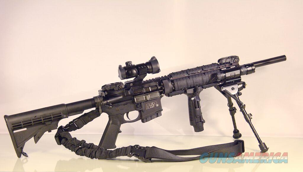Smith & Wesson M&P15T NJ Compliant SuperKit 223  Guns > Rifles > Smith & Wesson Rifles > M&P