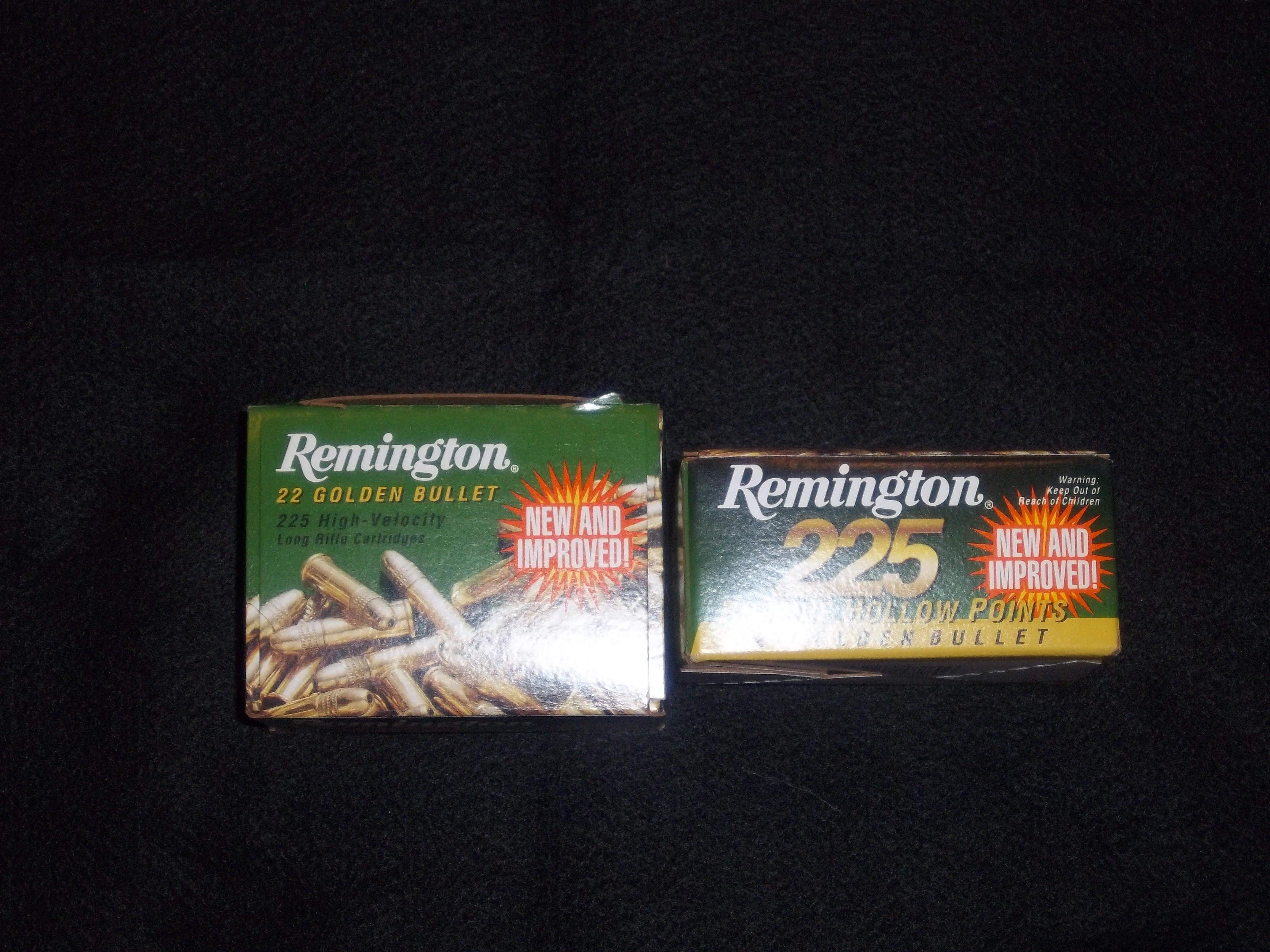 Remington Golden Bullet 22 LR Ammunition 450 rds  Non-Guns > Ammunition