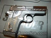 Sig Sauer P938 ENGRAVED!  Guns > Pistols > Sig - Sauer/Sigarms Pistols > Other