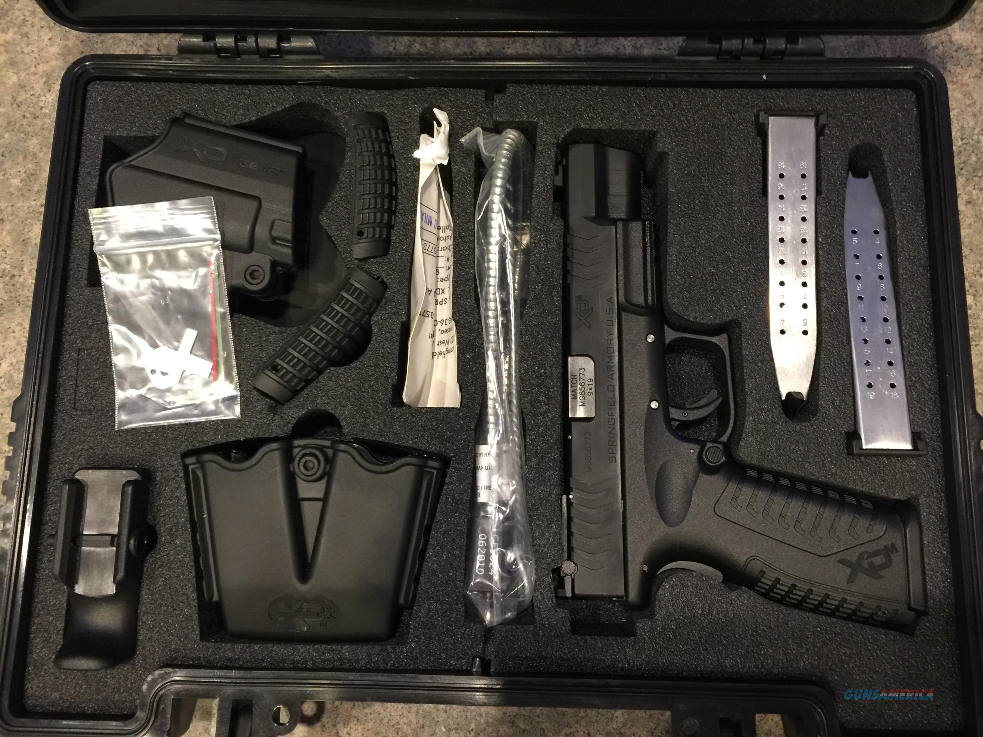 Xdm95259bhc xdm comp 9mm 5.25 19rd springfield 3 mags  Guns > Pistols > Springfield Armory Pistols > XD-M