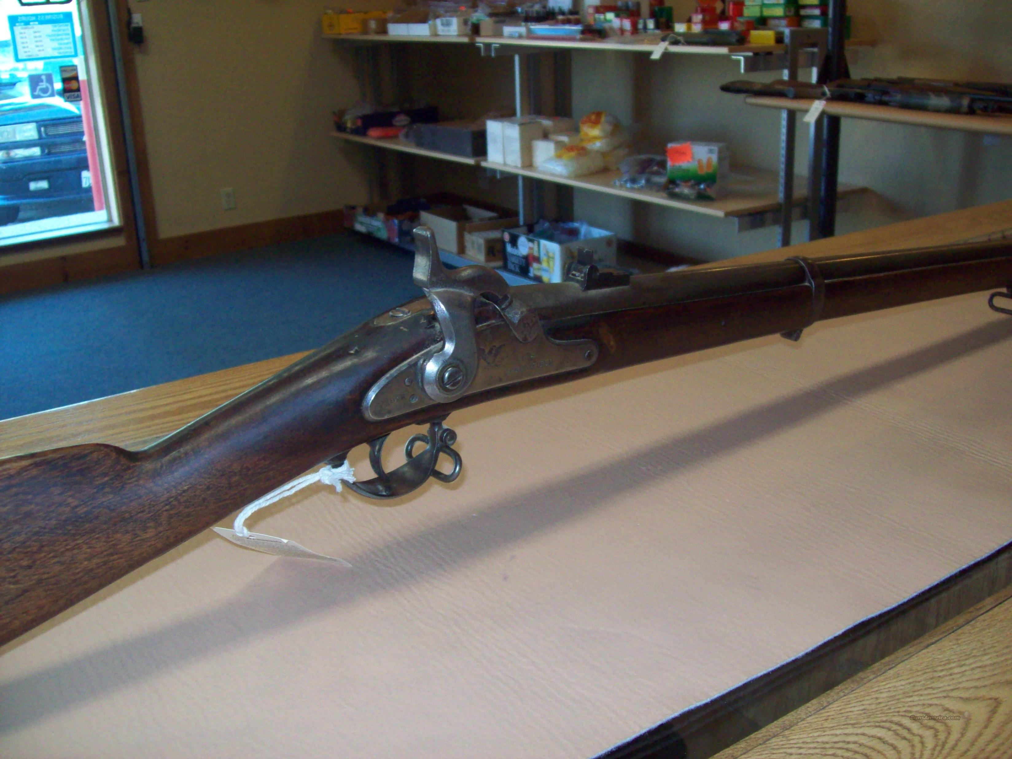 U.S. Springfield  Guns > Rifles > Antique (Pre-1899) Rifles - Perc. Misc.