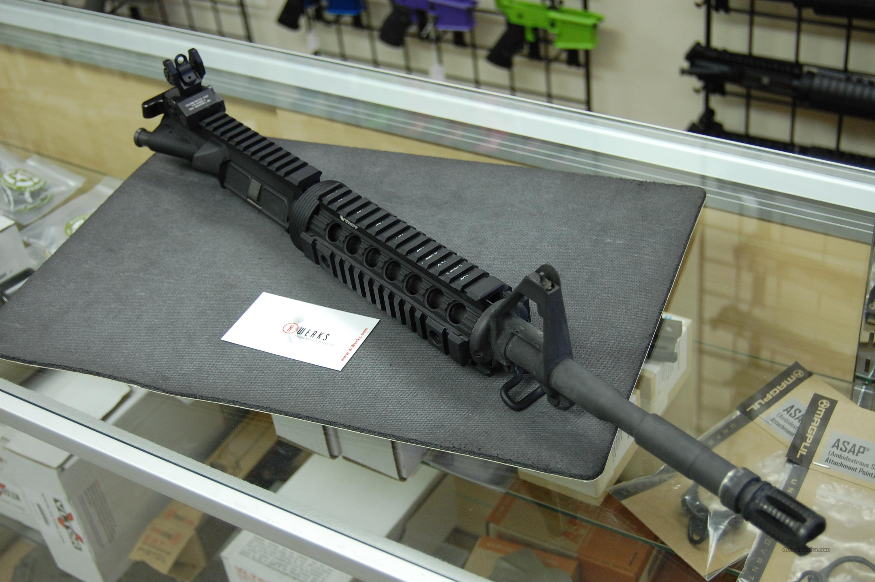 "Used LMT 14.5"" Complete Upper Troy KAC 5.56mm  Non-Guns > Gun Parts > M16-AR15"