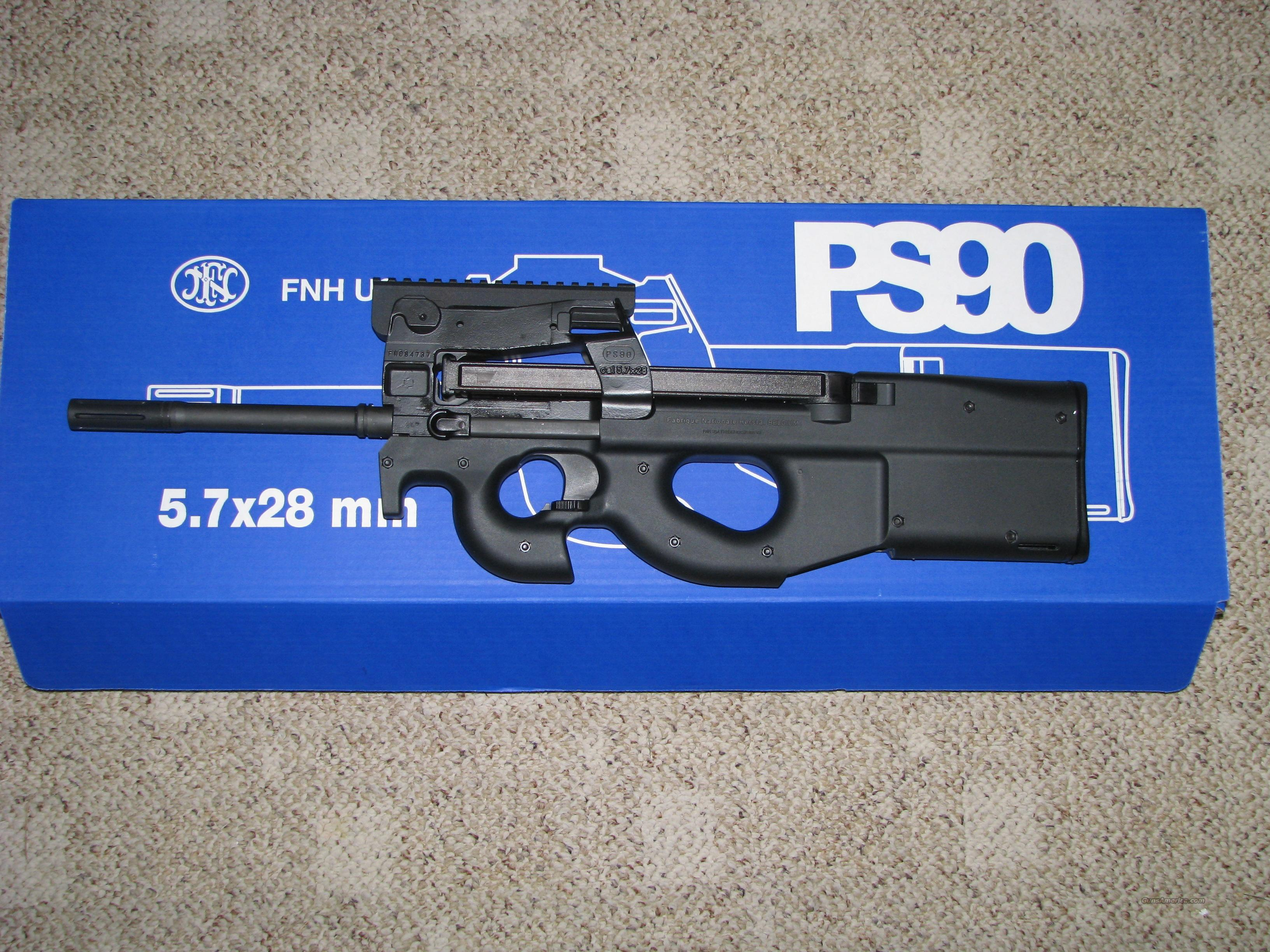 FN PS90 5.7X28MM 50 ROUND MAG ***NEW***  Guns > Rifles > FNH - Fabrique Nationale (FN) Rifles > Semi-auto > PS90