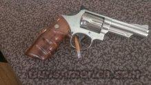 S&W 19-3 nickle  Guns > Pistols > Smith & Wesson Revolvers > Full Frame Revolver