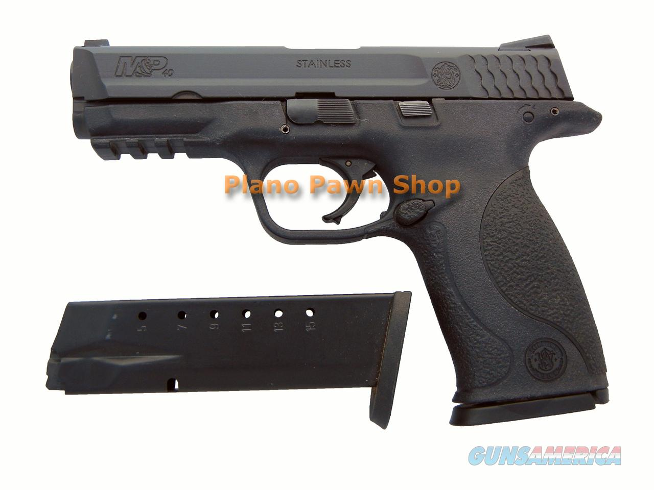 Smith and Wesson M&P40 .40SW with 2 Magazines  Guns > Pistols > Smith & Wesson Pistols - Autos > Polymer Frame