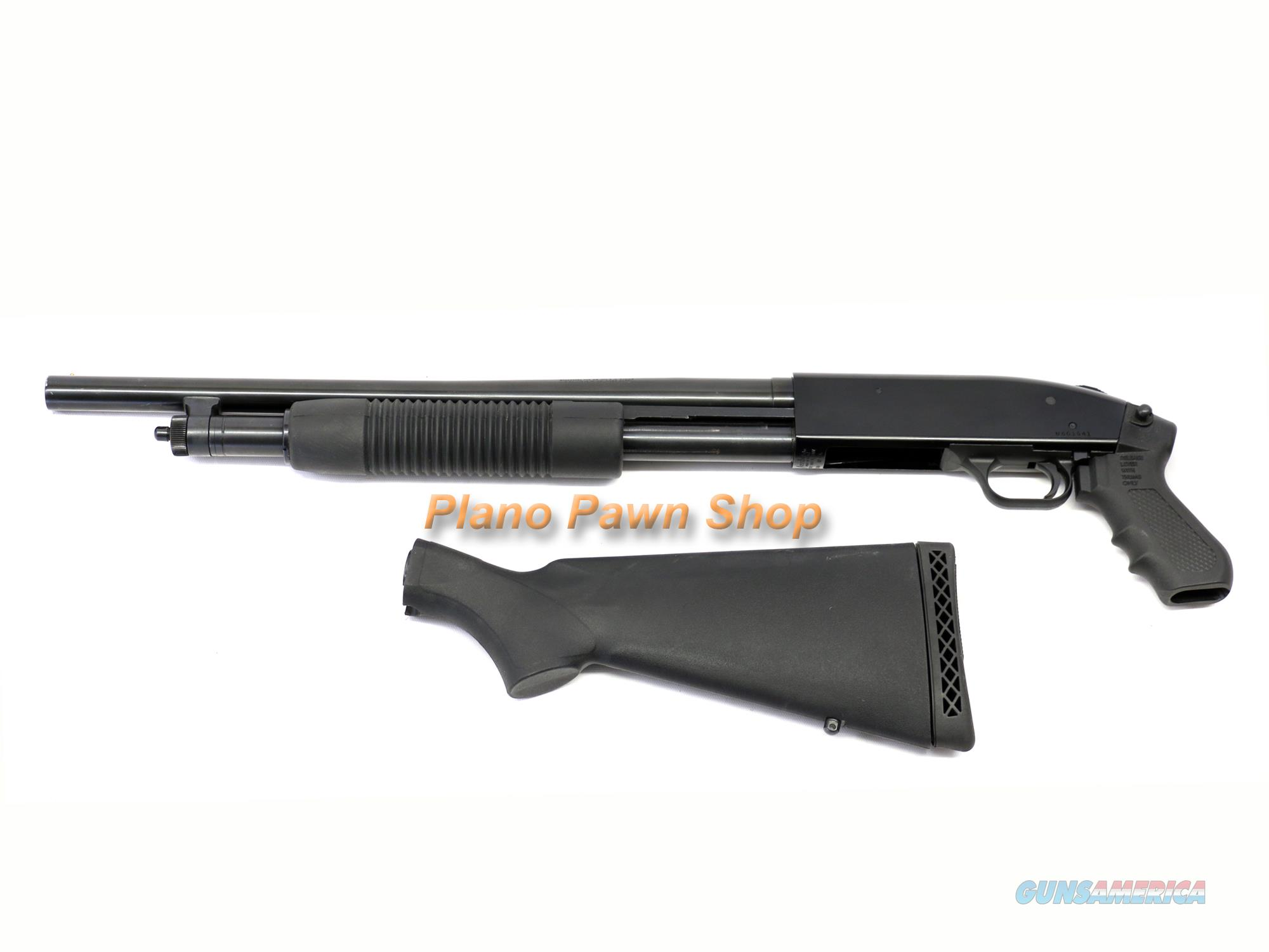 Mossberg 500 12GA Home Defense Shotgun with Pistol Grip & Shoulder Stock  Guns > Shotguns > Mossberg Shotguns > Pump > Tactical
