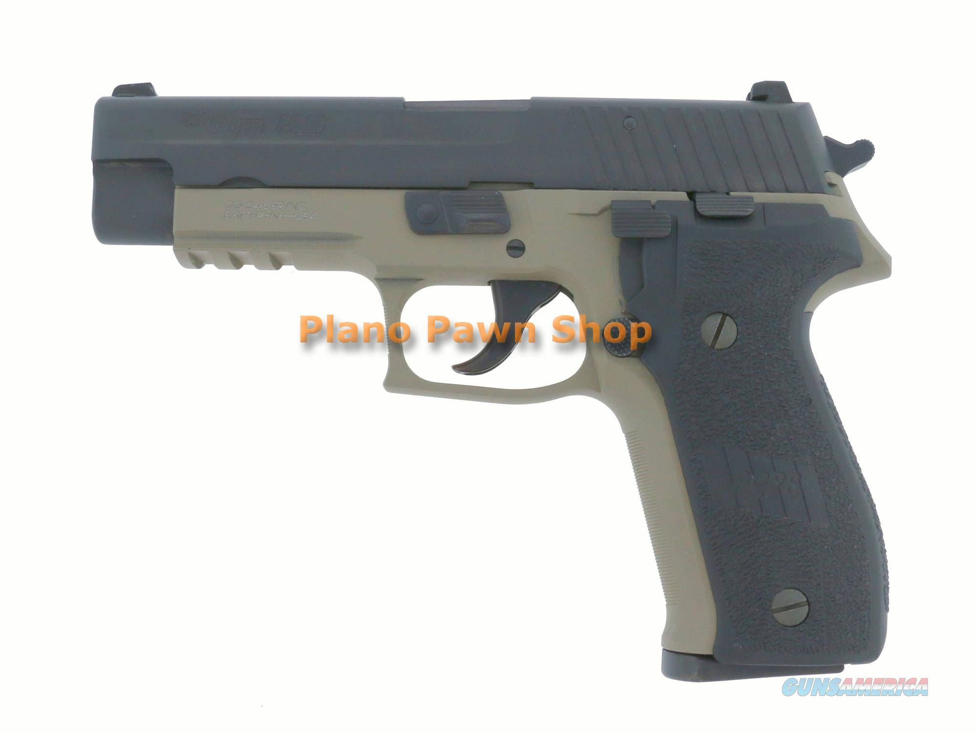 SIG Sauer Model P226 Dark Earth 9mm with Night Sights & 1 Magazine  Guns > Pistols > Sig - Sauer/Sigarms Pistols > P226