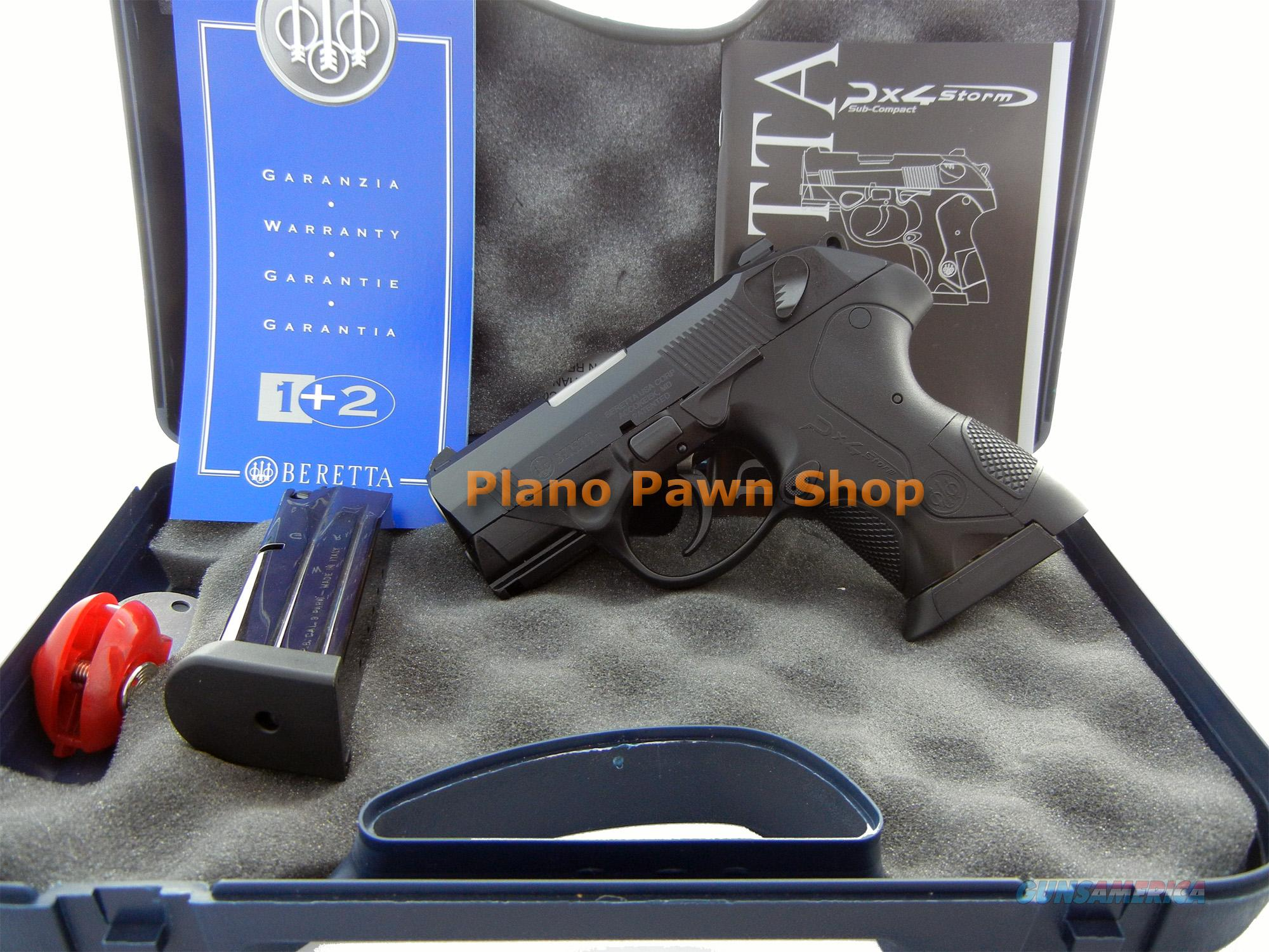 Beretta Model PX4 Storm SubCompact 9mm in Case with 2 Mags  Guns > Pistols > Beretta Pistols > Polymer Frame