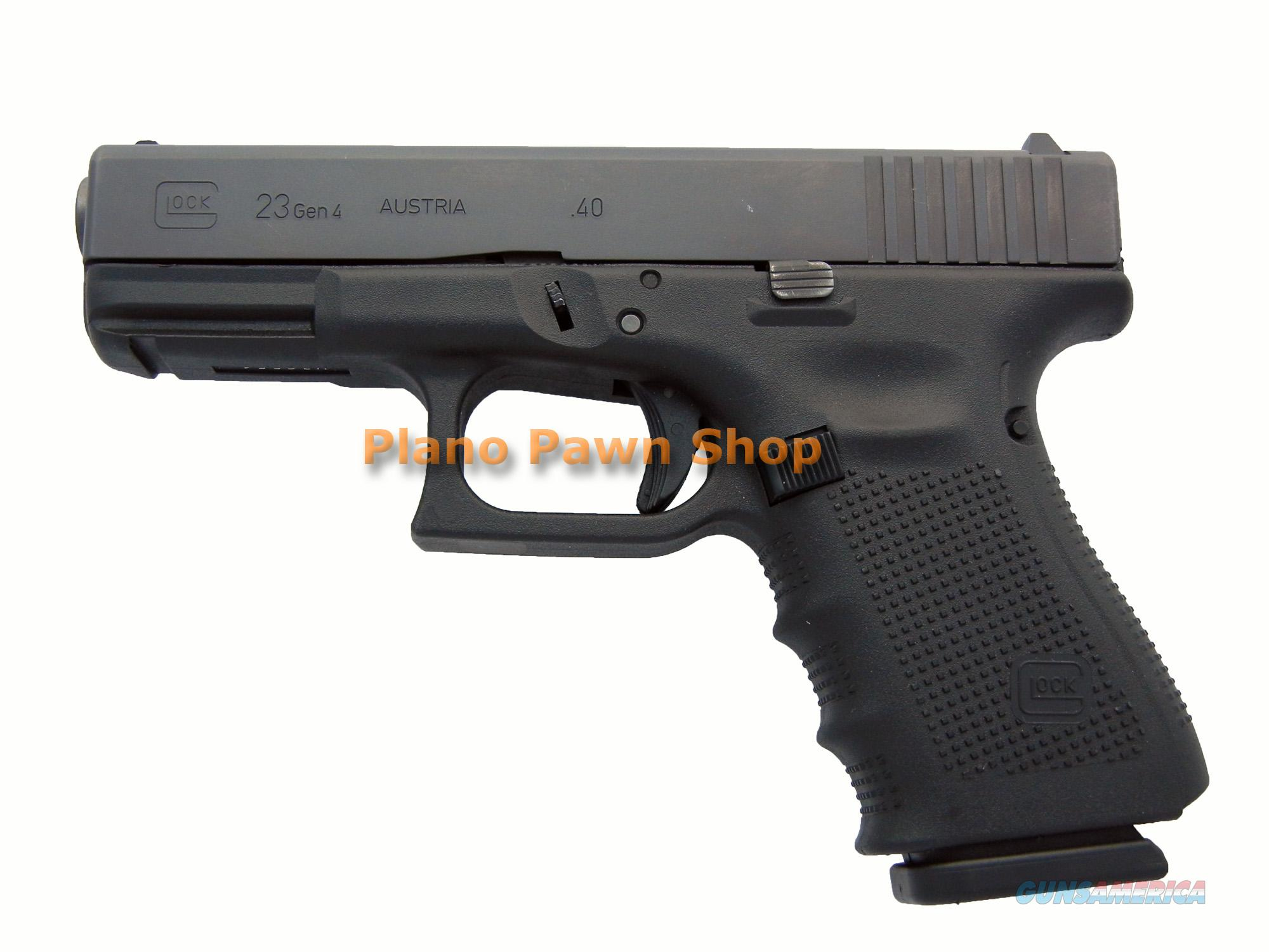 Glock Model 23 Gen 4 .40SW with 1 Magazine  Guns > Pistols > Glock Pistols > 23