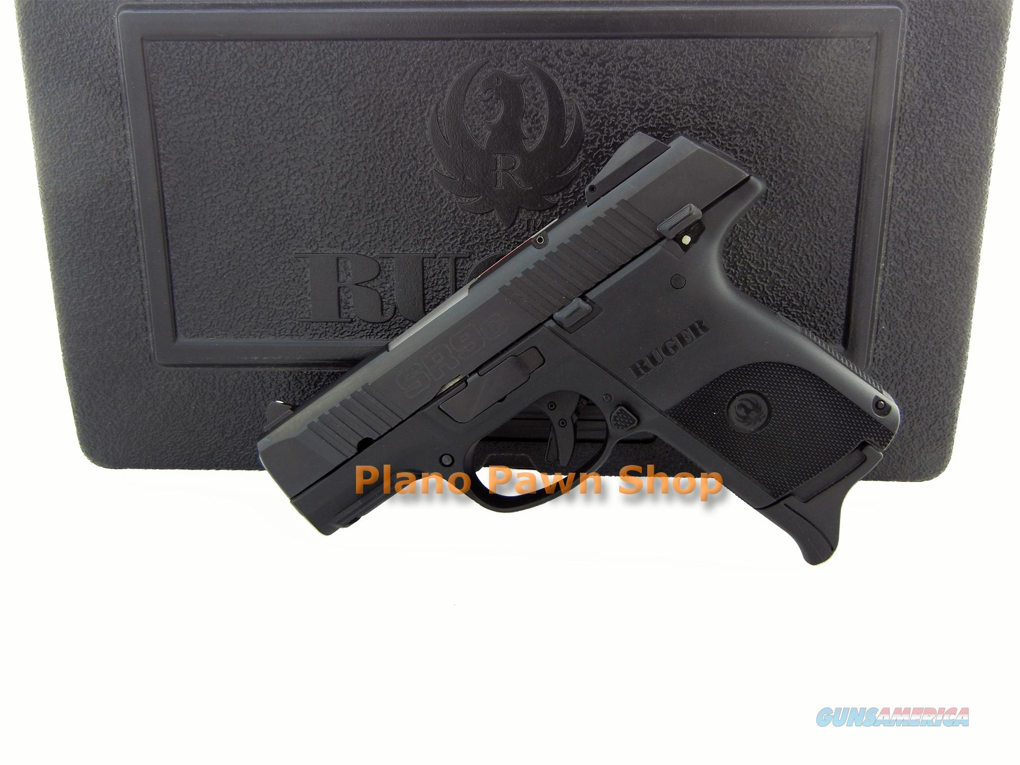 Ruger Model SR9C 9mm LIKE NEW in Case with 2 Magazines  Guns > Pistols > Ruger Semi-Auto Pistols > SR9 & SR40