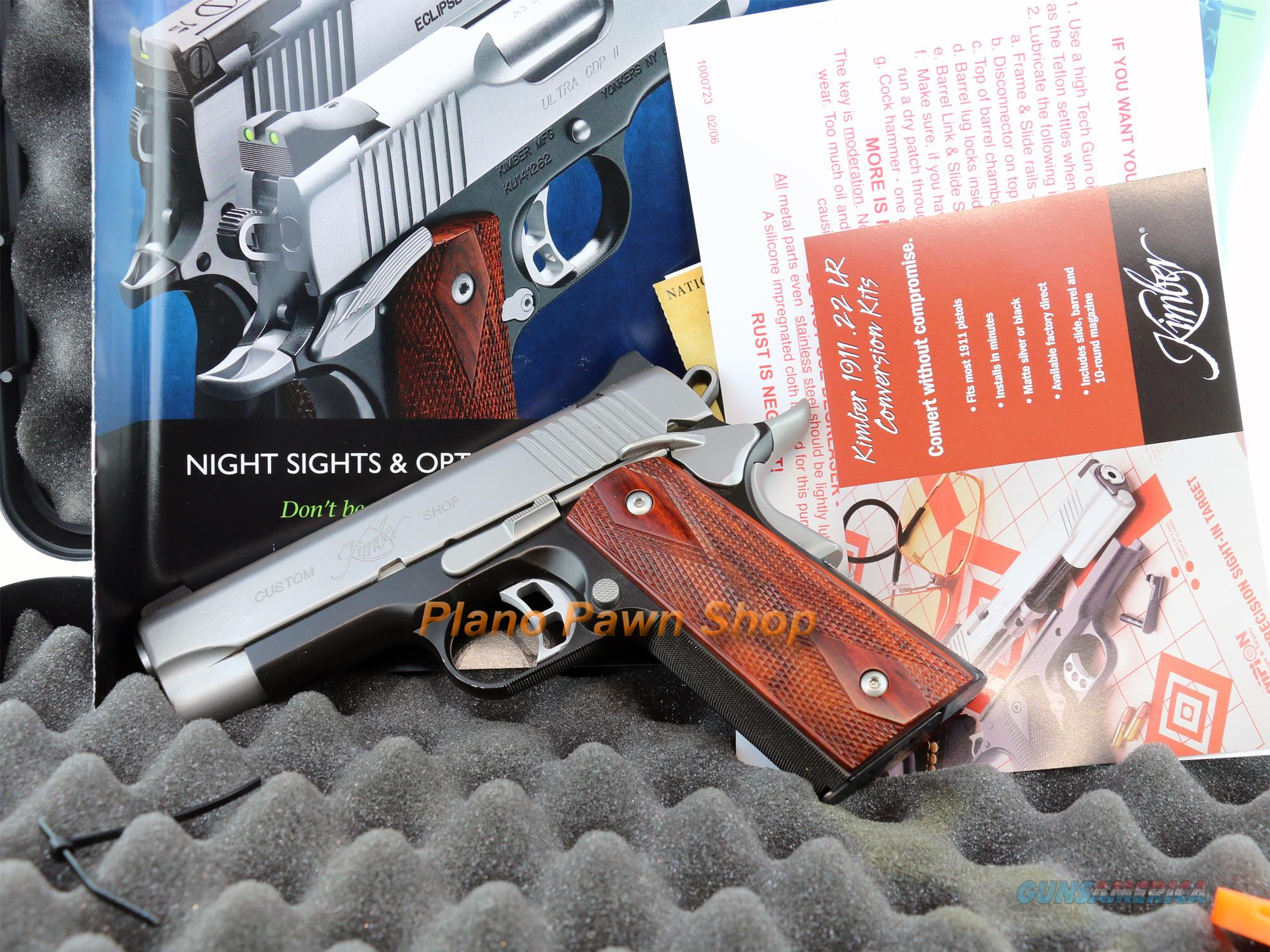 Kimber Pro CDP II .45ACP in Case with 1 Magazine & papers  Guns > Pistols > Kimber of America Pistols
