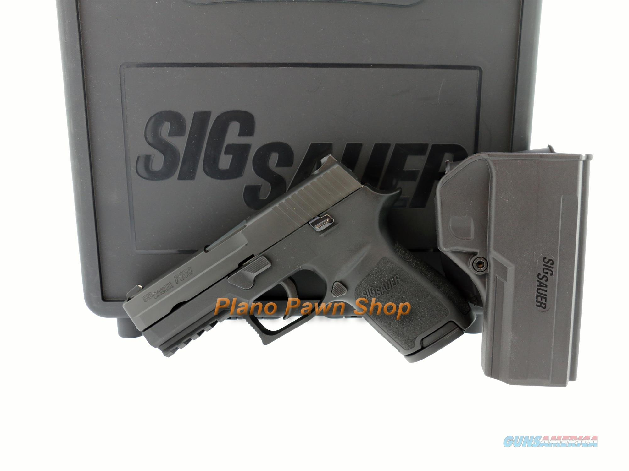 SIG Sauer P250C 9mm Compact in Case with 1 Mag & SIG Holster  Guns > Pistols > Sig - Sauer/Sigarms Pistols > P250