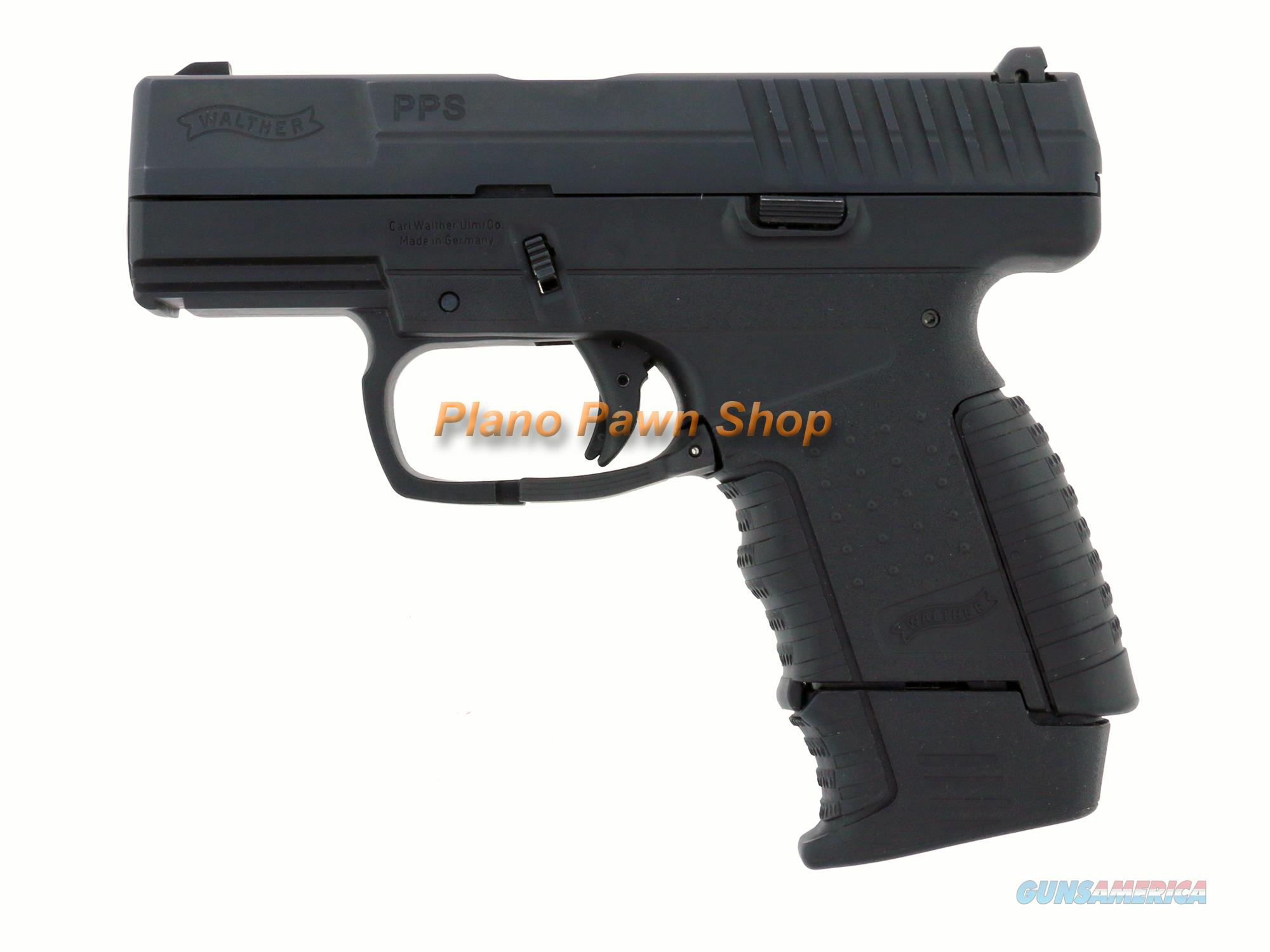Walther Model PPS 9mm Pistol with 2 Magazines  Guns > Pistols > Walther Pistols > Post WWII > PPS