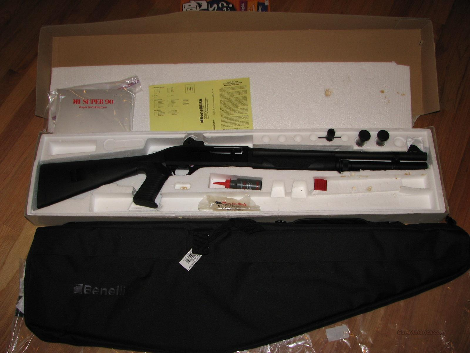 Benelli M-1 Super 90 Semiautomatic with factory pistol grip  Guns > Shotguns > Benelli Shotguns > Tactical