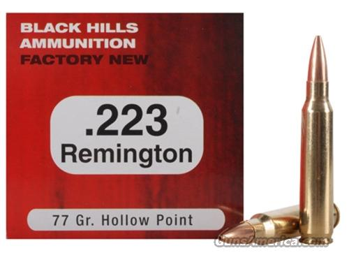 BLACK HILLS SIERRA MATCH KING 77 RAIN (223) 50 rds  Non-Guns > Ammunition