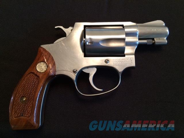 Smith & Wesson model 60, .38 Special   Guns > Pistols > Smith & Wesson Revolvers > Full Frame Revolver