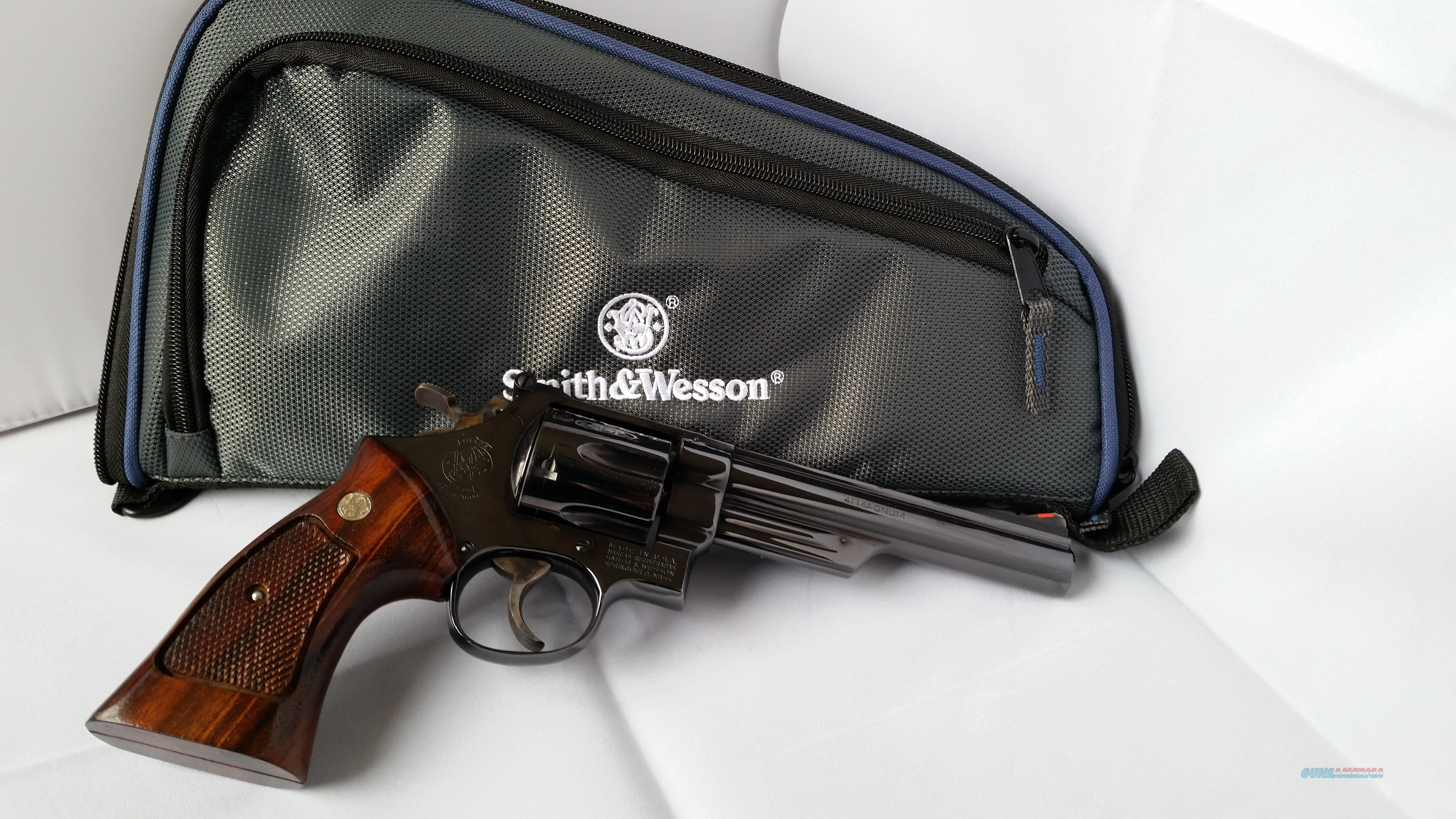 S&W M57 .41 Magnum  Guns > Pistols > Smith & Wesson Revolvers > Full Frame Revolver