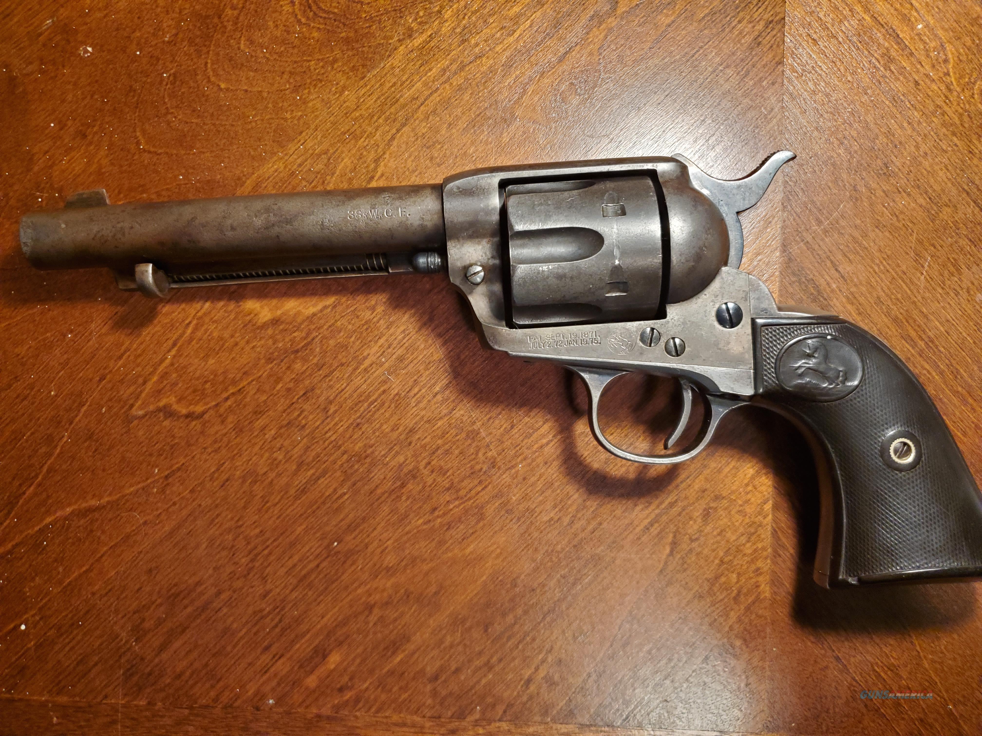 "Colt 1st Gen. SAA 38 wcf 5.5"" 1916 REDUCED *REDUCED*  Guns > Pistols > Colt Single Action Revolvers - 1st Gen."