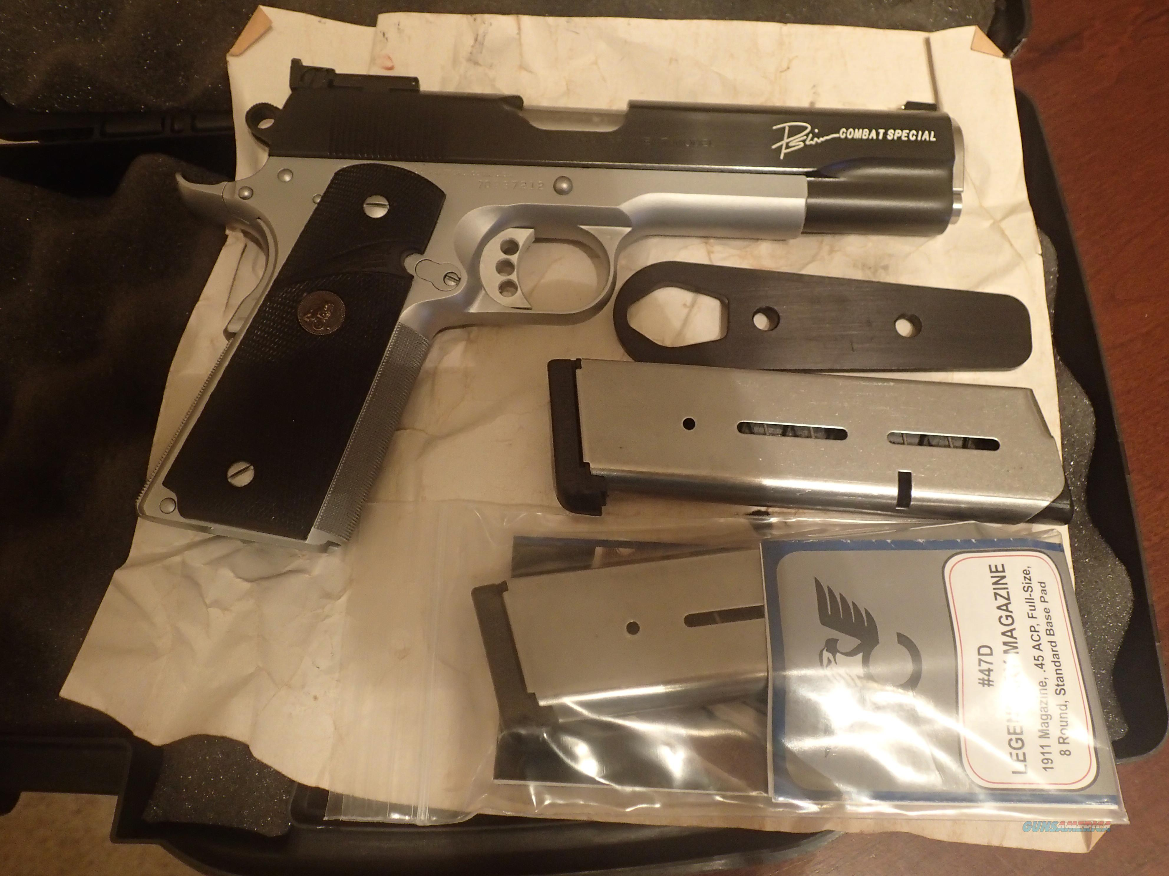 Colt Combat Special Series 70 by Paul Liebenberg 5 Year Wait  Guns > Pistols > Custom Pistols > 1911 Family