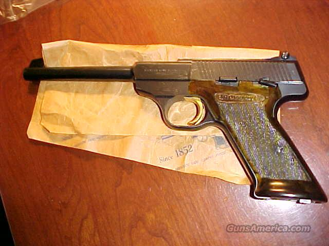 Browning Belgium Challenger 22LR Mint Rare Grips  Guns > Pistols > Browning Pistols > Other Autos
