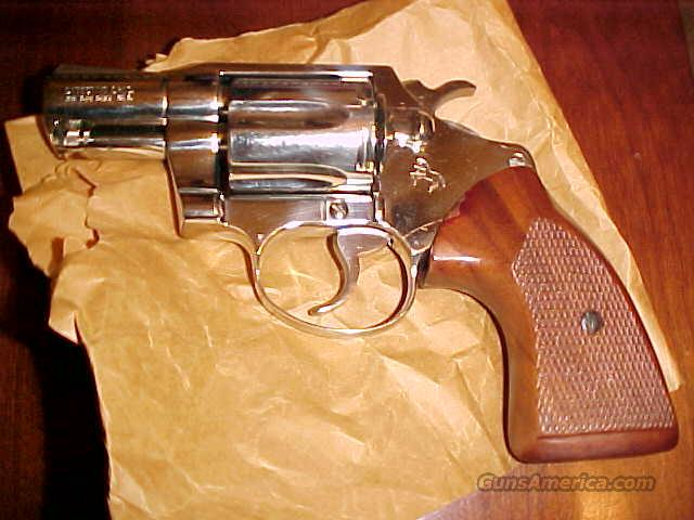 Colt Dectective Special Factory Nickel Unfired  Guns > Pistols > Colt Double Action Revolvers- Modern
