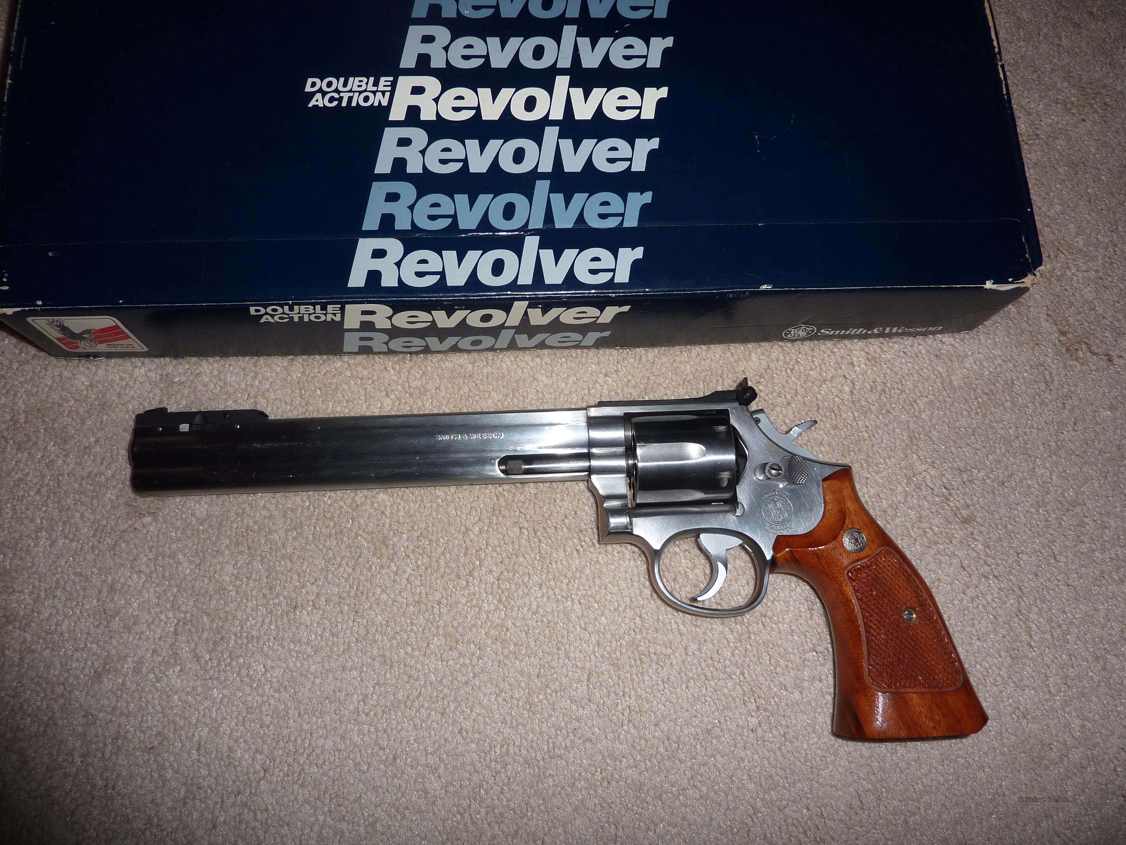 Smith & Wesson 357 'dirty Harry' type revolver for sale