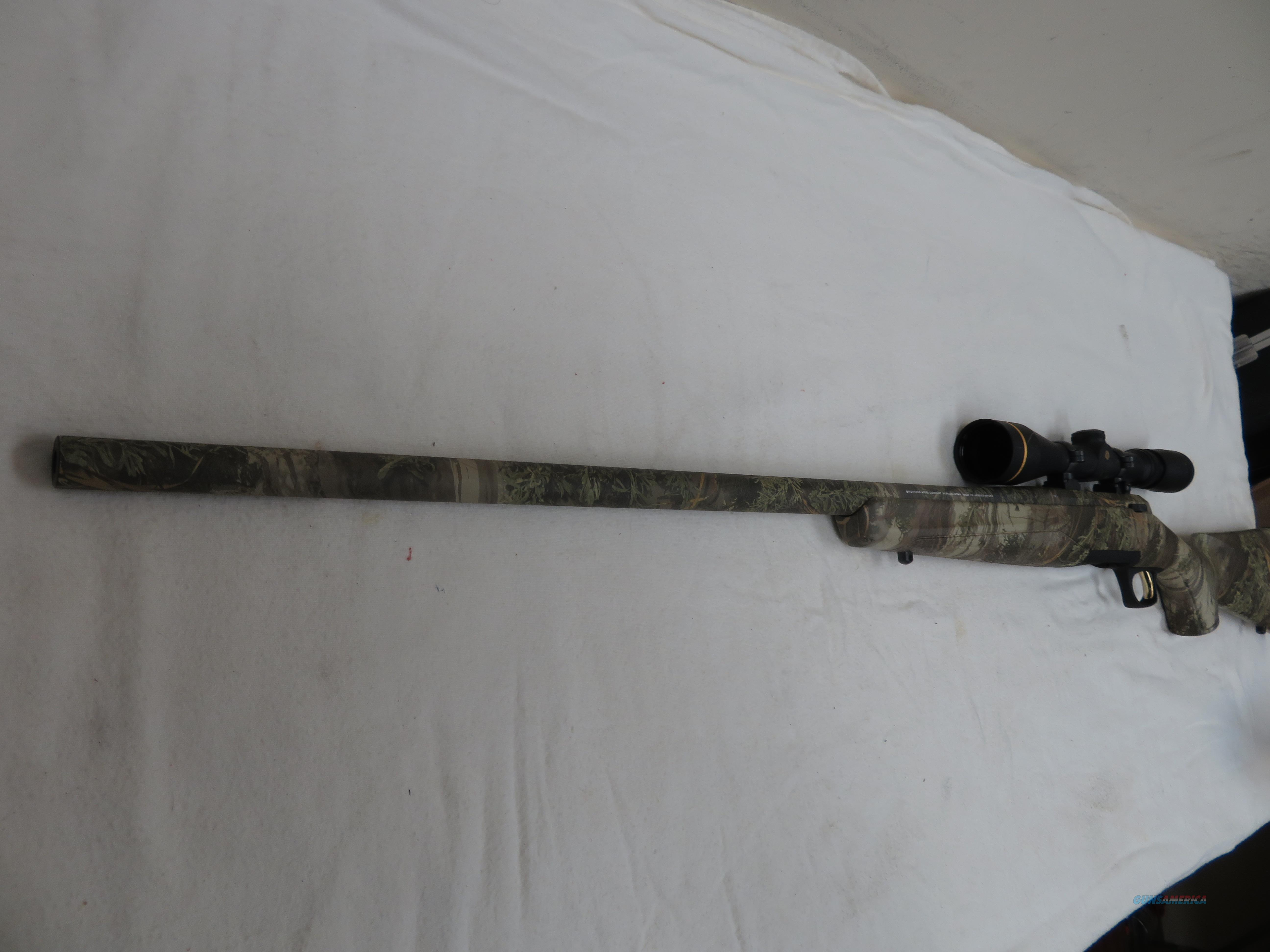 BROWNING X BOLT 22-250 WITH LEUPOLD SCOPE  Guns > Rifles > Browning Rifles > Bolt Action > Hunting > Blue