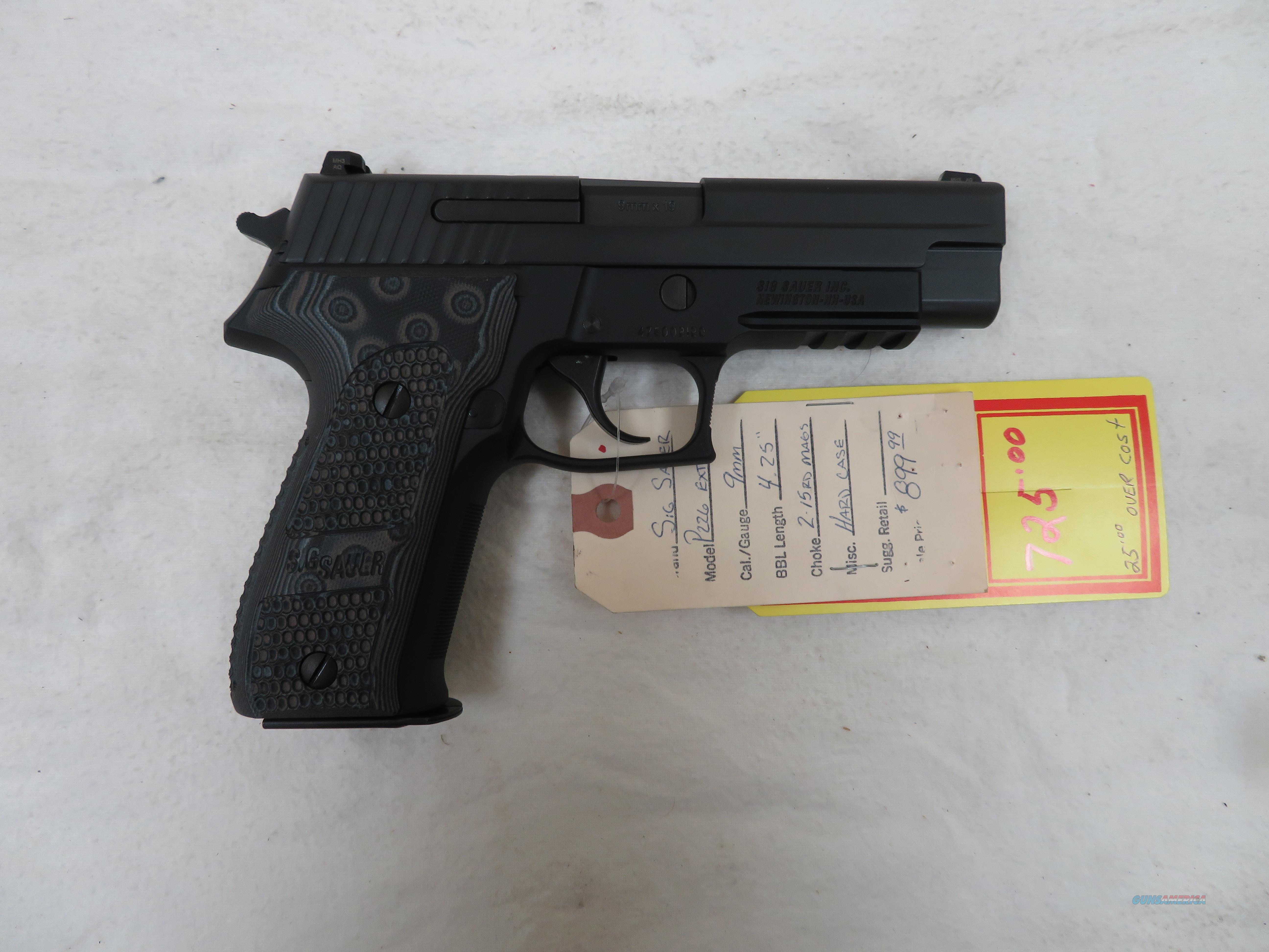 "SIG SAUER P226 EXTREME 9MM 4.4""  Guns > Pistols > Sig - Sauer/Sigarms Pistols > P226"