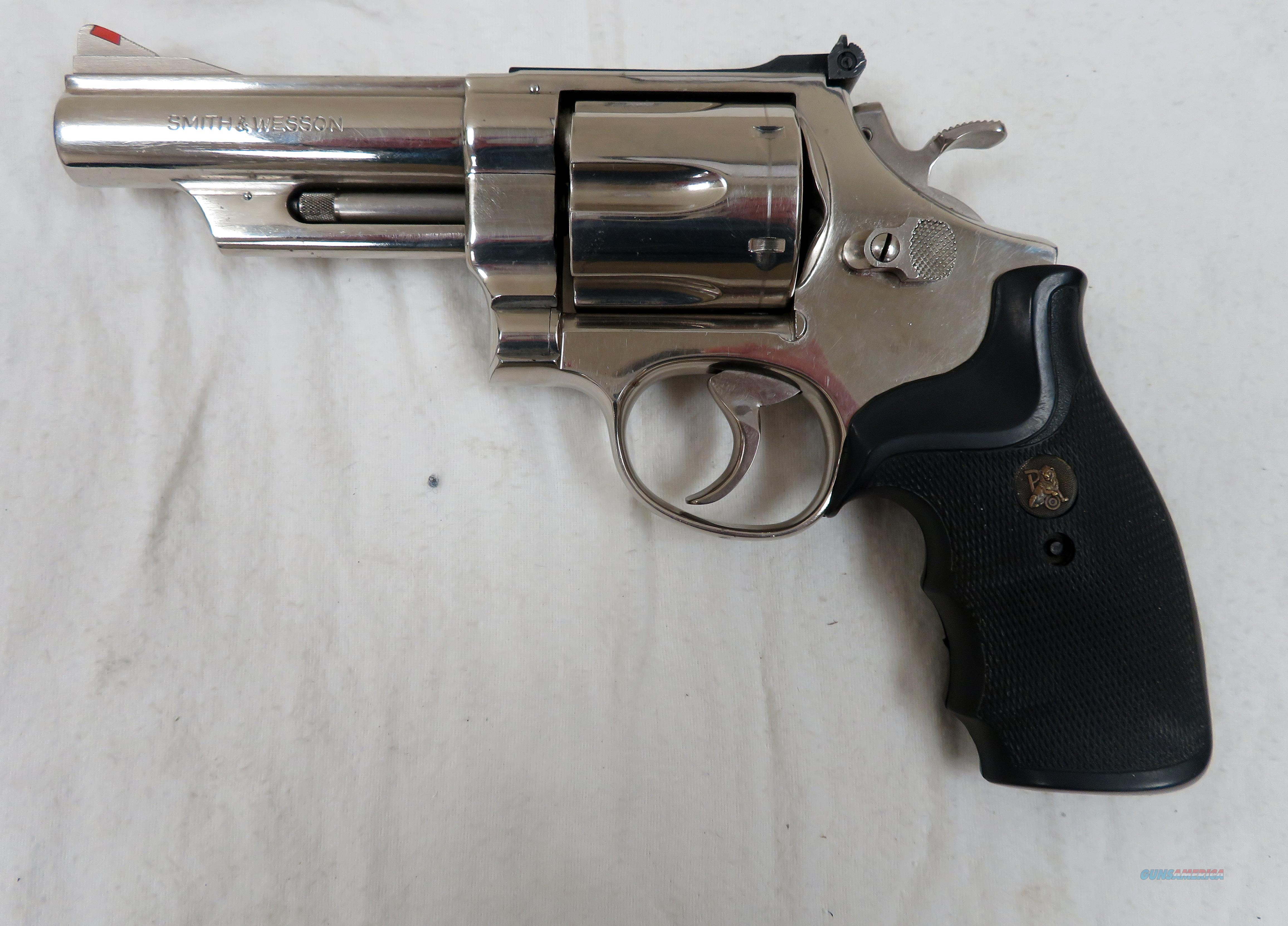 "SMITH & WESSON MODEL 29-2 NICKEL .44 MAGNUM 4""  Guns > Pistols > Smith & Wesson Revolvers > Full Frame Revolver"