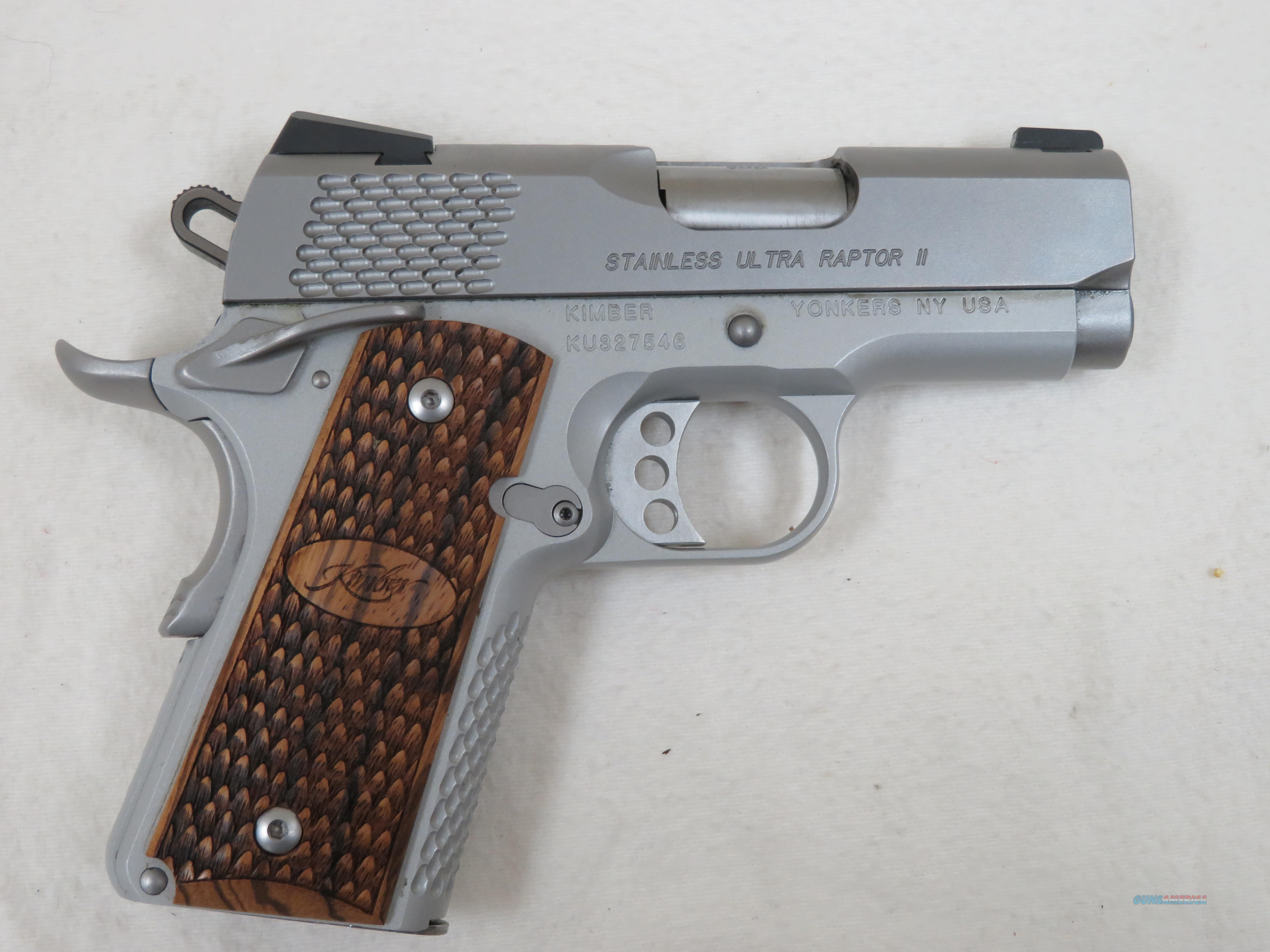 KIMBER STAINLESS ULTRA RAPTOR II 9MM  Guns > Pistols > Colt Automatic Pistols (1911 & Var)