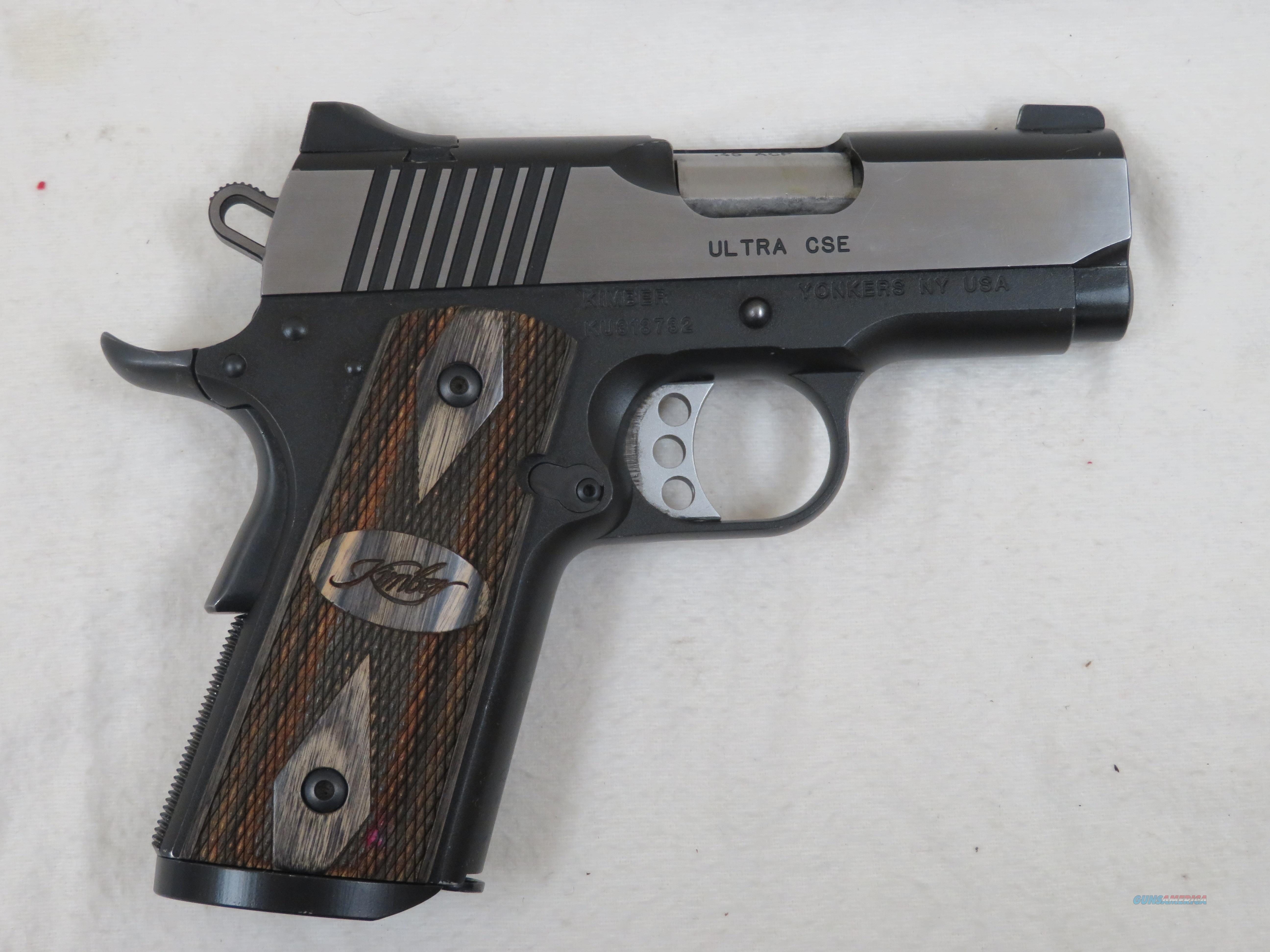 KIMBER ULTRA CSE .45 ACP  Guns > Pistols > Kimber of America Pistols > 1911